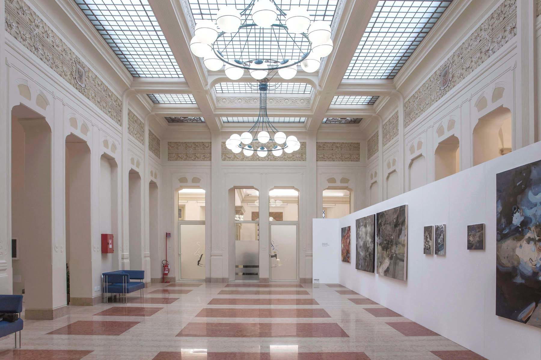 Jingge Dong, The Goddess of the Luo River, 2019, installation view, Palazzo Tubertini, Bologna