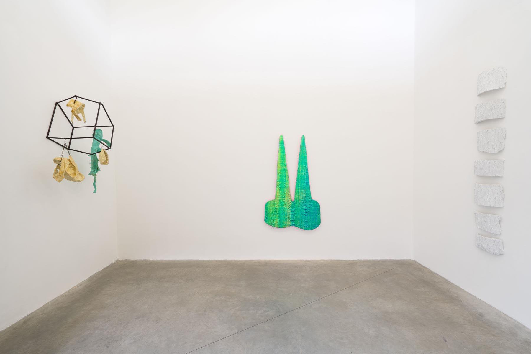 Uroboros, installation view, Galleria Alessandro Albanese, Milan