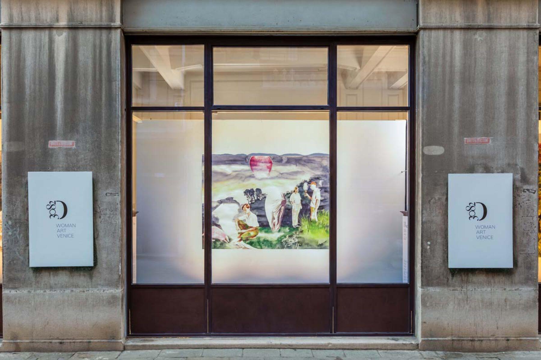 Io è un'altra, installation view (Greta Ferretti), D3082, Venice, 2021, ph. Studio Mion