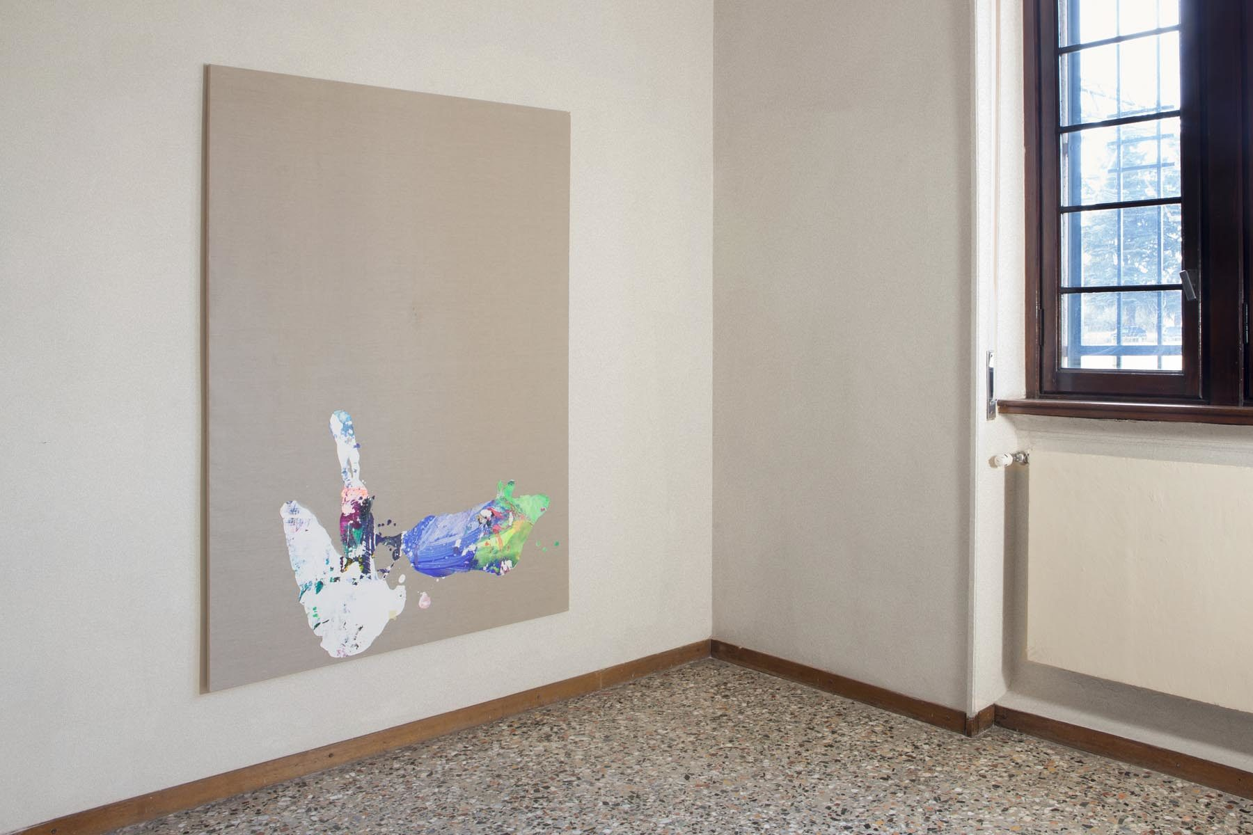 Graffiare il presente, vista della mostra (T. Martini), Casa Testori, Novate Milanese