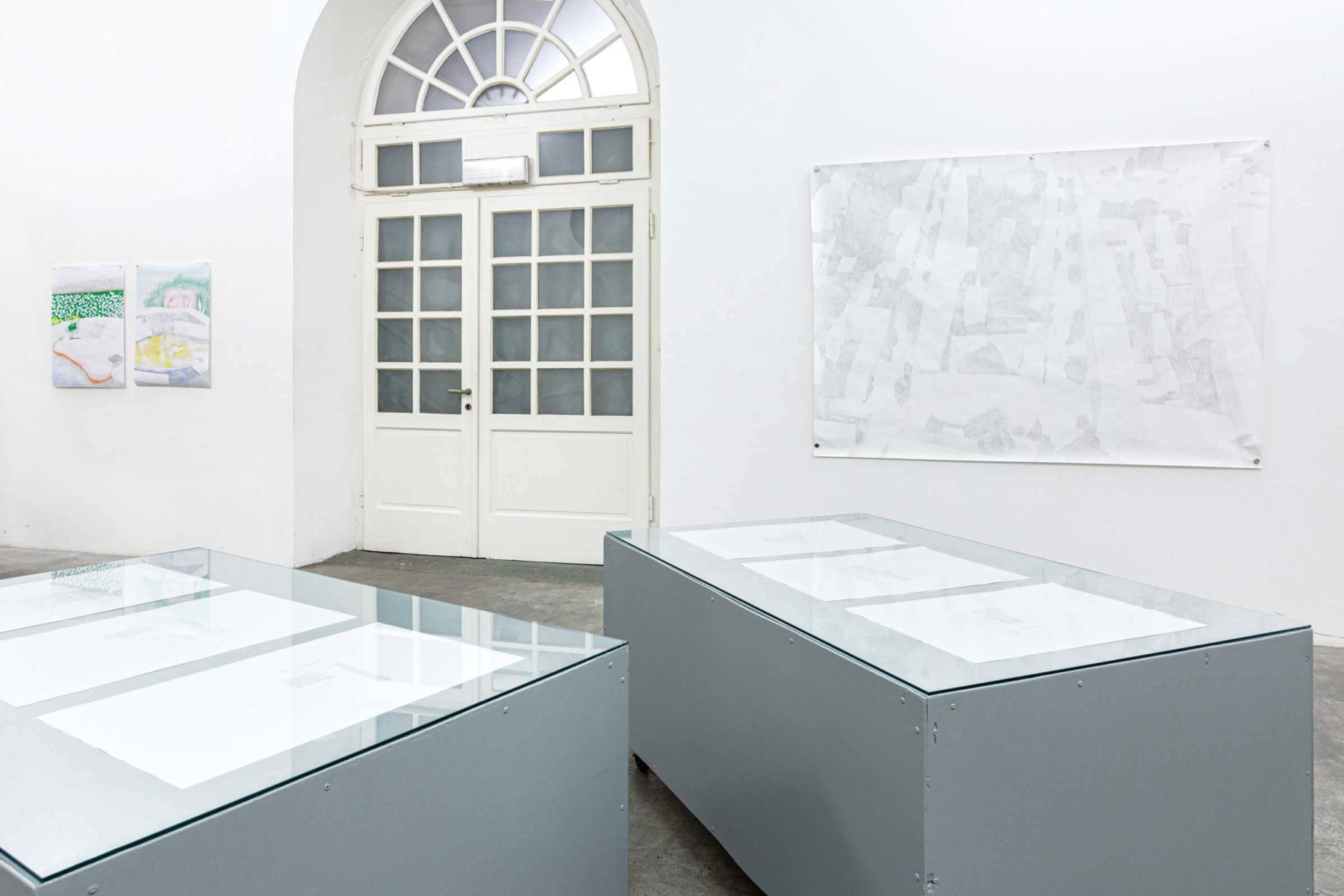 Teresa Mayr, I don't want to be an onager, 2020, installation view, Trieste Contemporanea, ph. N.Covre