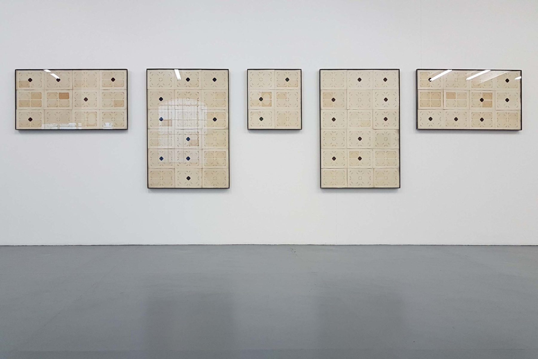 Jacopo Mazzonelli, Difference and Repetition, show view, Giovanni Bonelli, Milano