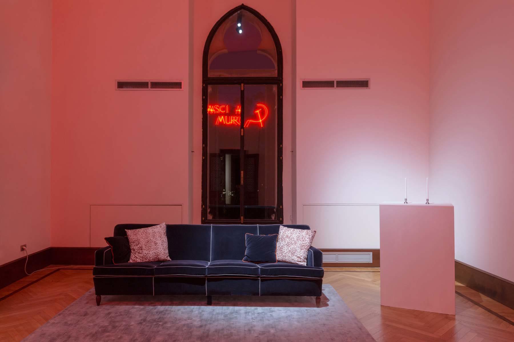 Linea di principio, 2018, installation view, Fondazione Berengo, Venezia, ph. Nico Covre