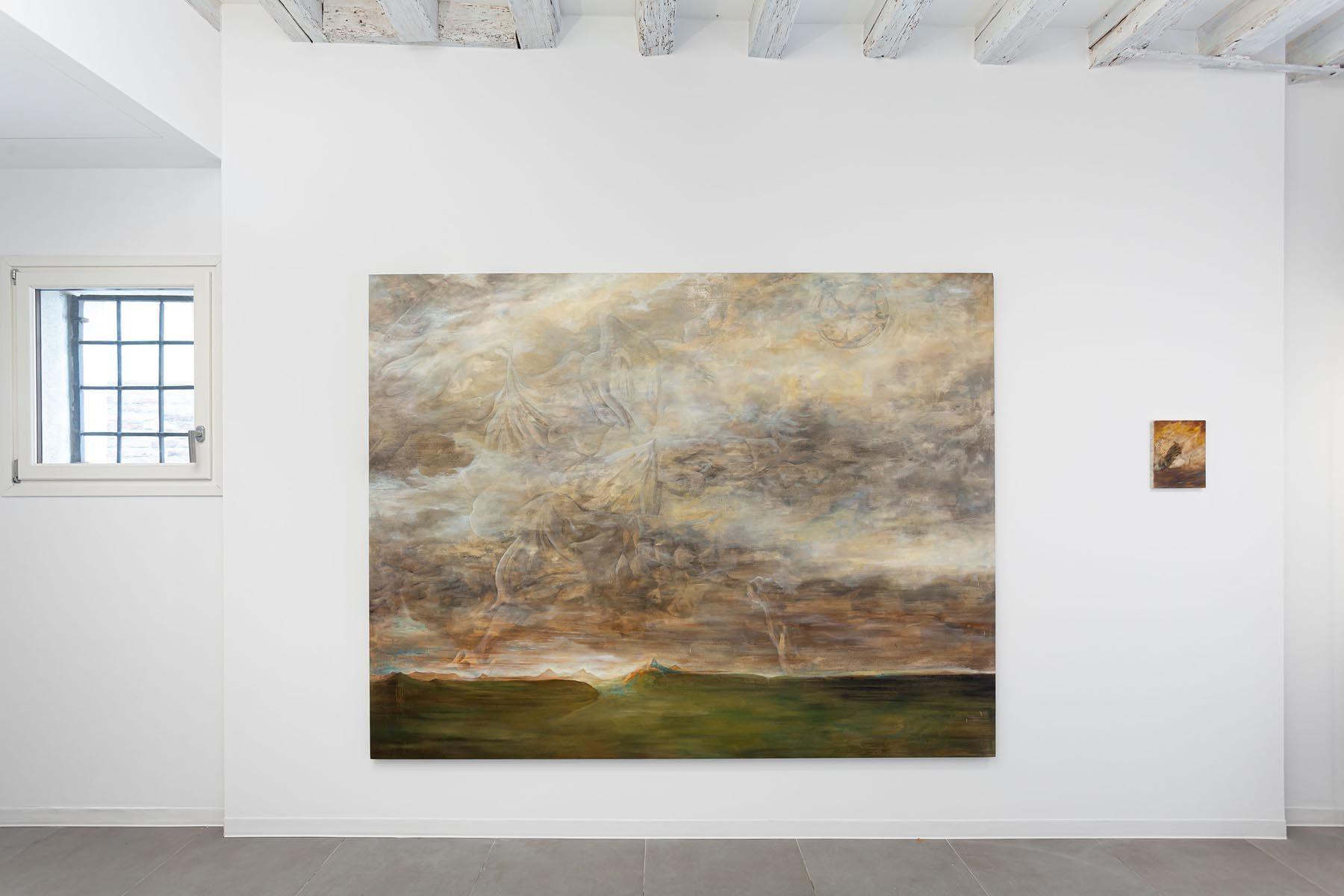 Lo sguardo di Giano, installation view, 2020, Marignana Arte, Venice, ph. S. Longhi