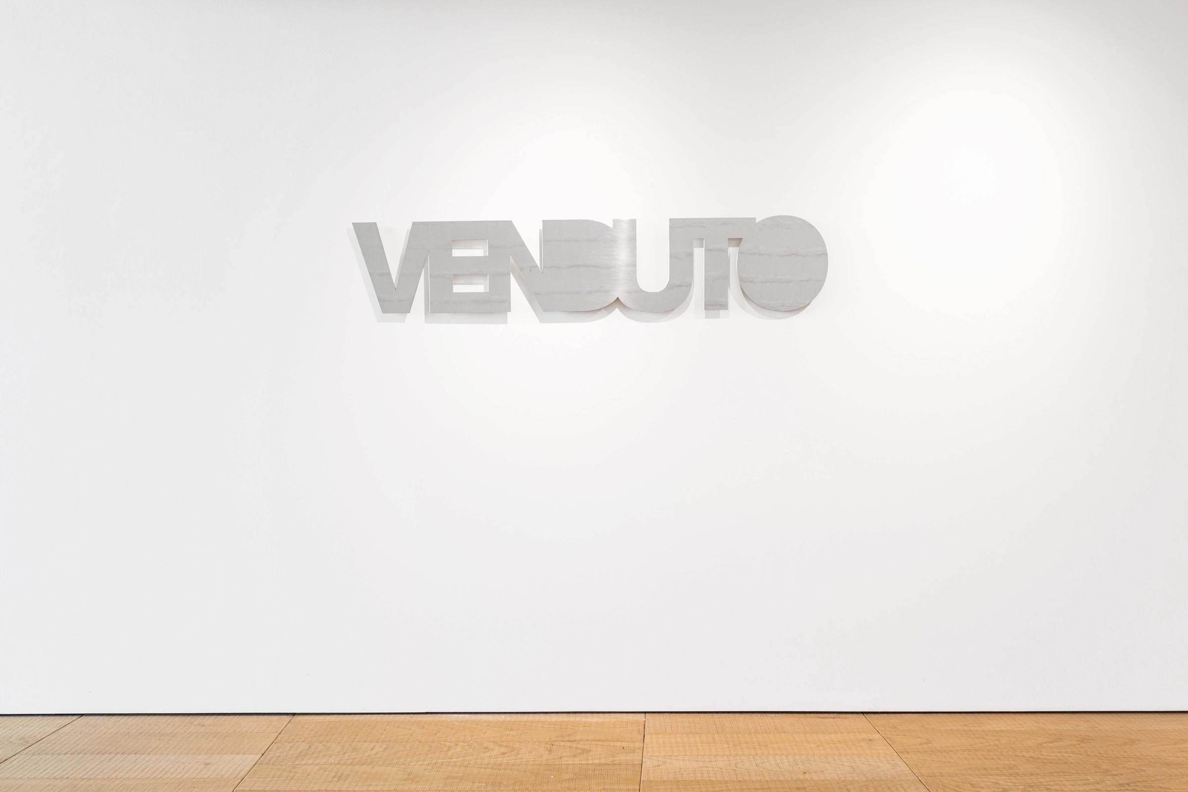 Matteo Attruia, Sold Out, show view, Galleria MDL, Venice, ph. N. Covre