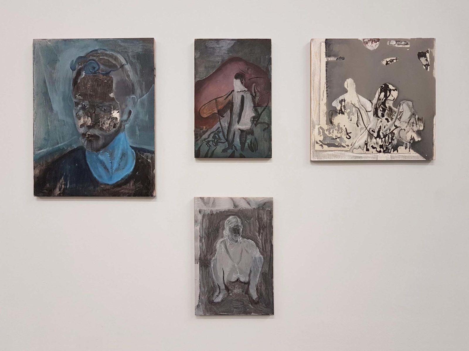 Nebojša Despotović, Between the devil and the deep blue sea ovvero freie Kartoffeln, 2018, Boccanera Galllery, Trento