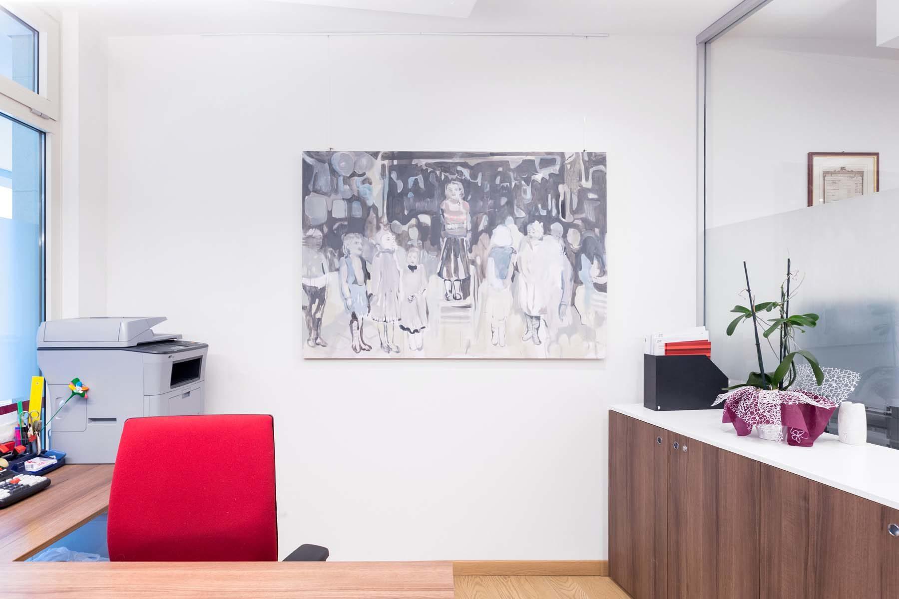 Pitture in attesa, vista della mostra, Ag. Generali, Pordenone, ph. N. Covre