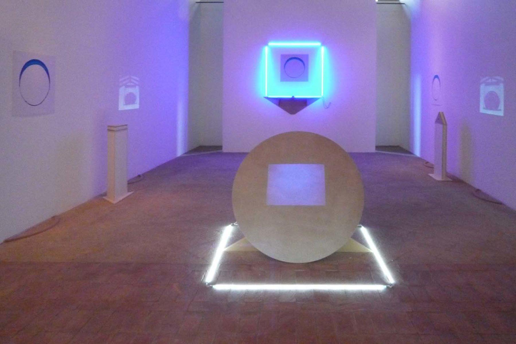 Matteo Fato, Untitled, 2010, istallazione site specific per AB23
