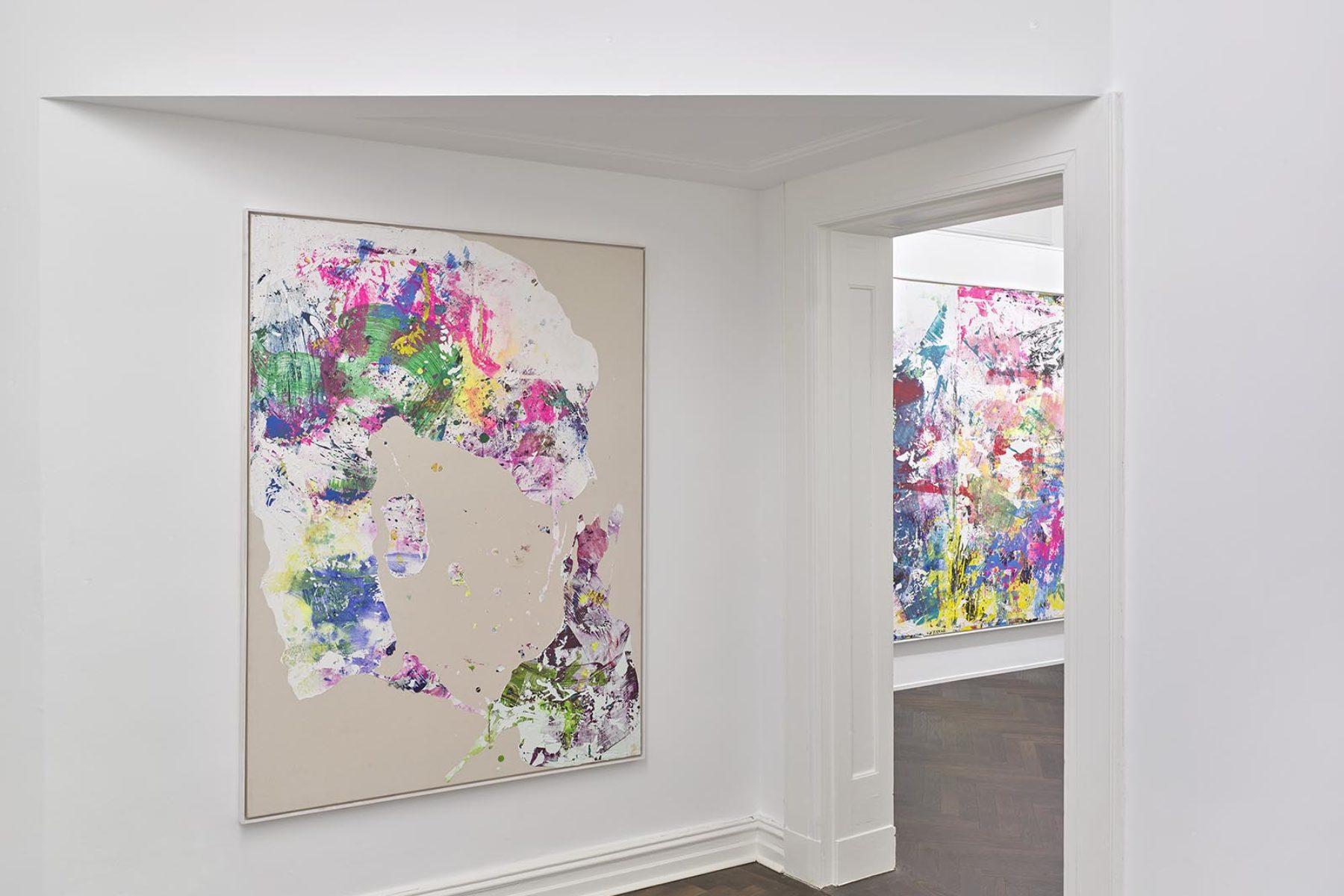 Tiziano Martini, Die Tücken der neuen Freiheit, installation view, Achenbach Hagemeier Gallery, Düsseldorf, ph. Achim Kukulies