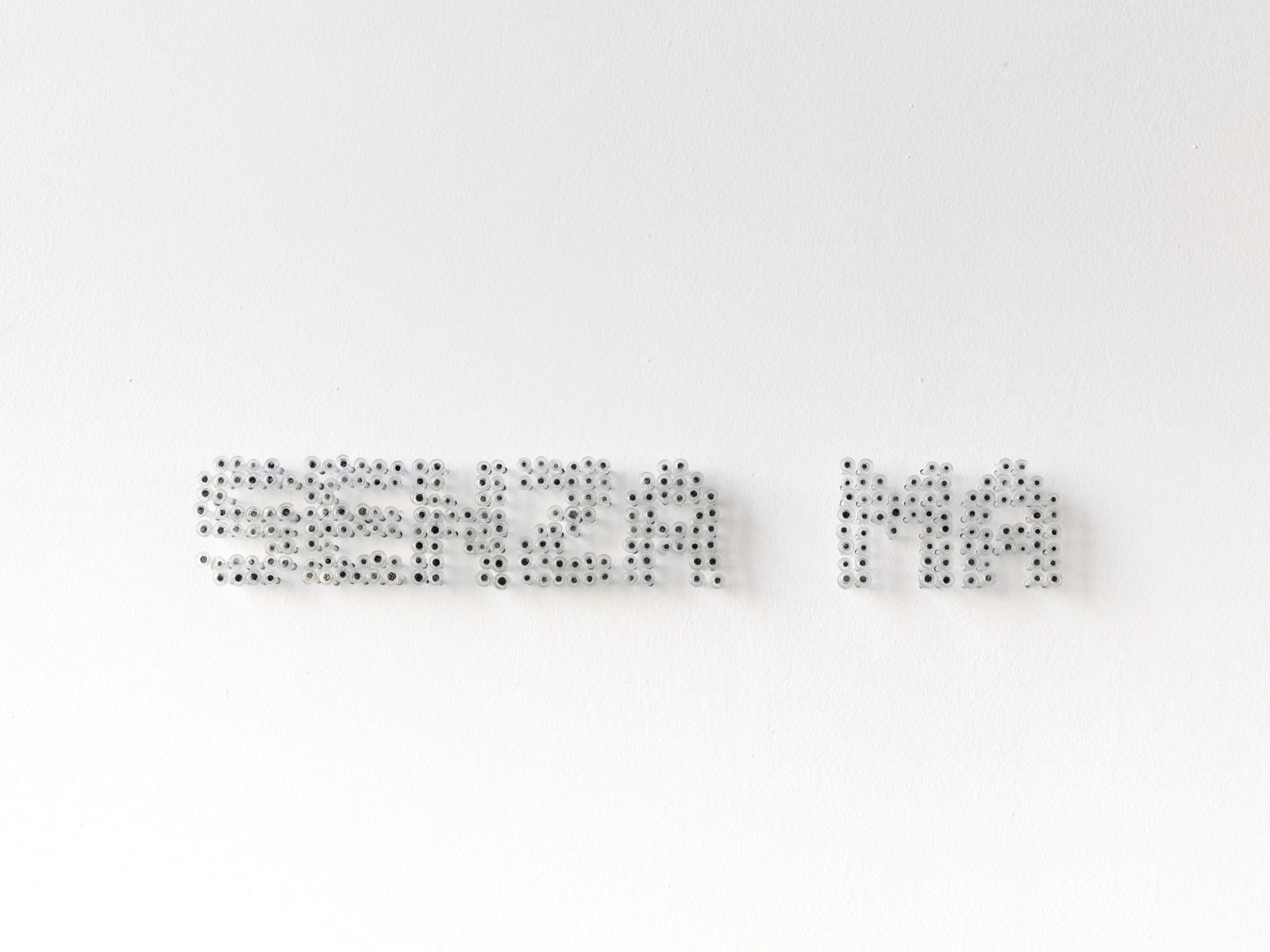 Penzo+Fiore, Senza ma, 2019, Murano glass nails, ph. G. Cecchinato