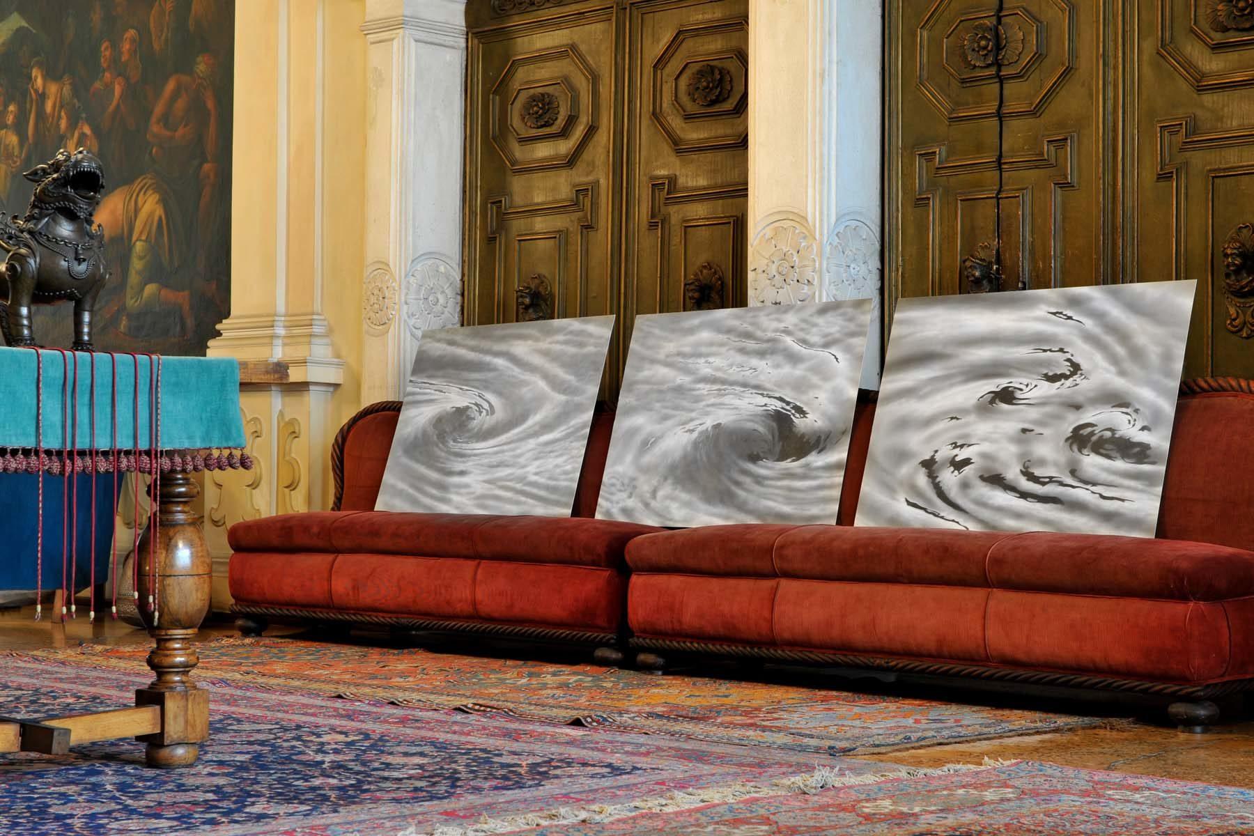 Serse, Vortice – Assenzio, 2008, grafite su carta su alluminio, ciascuno 70 x 100 cm, ph. U. Egger