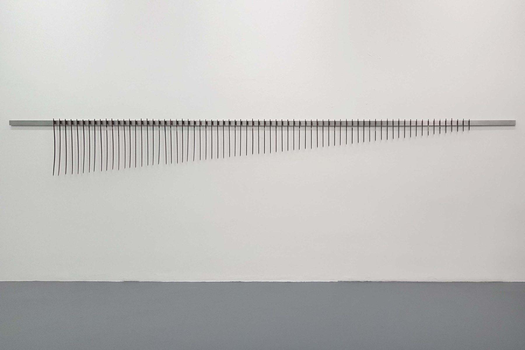 Jacopo Mazzonelli, Difference and Repetition, show view, Giovanni Bonelli, Milano