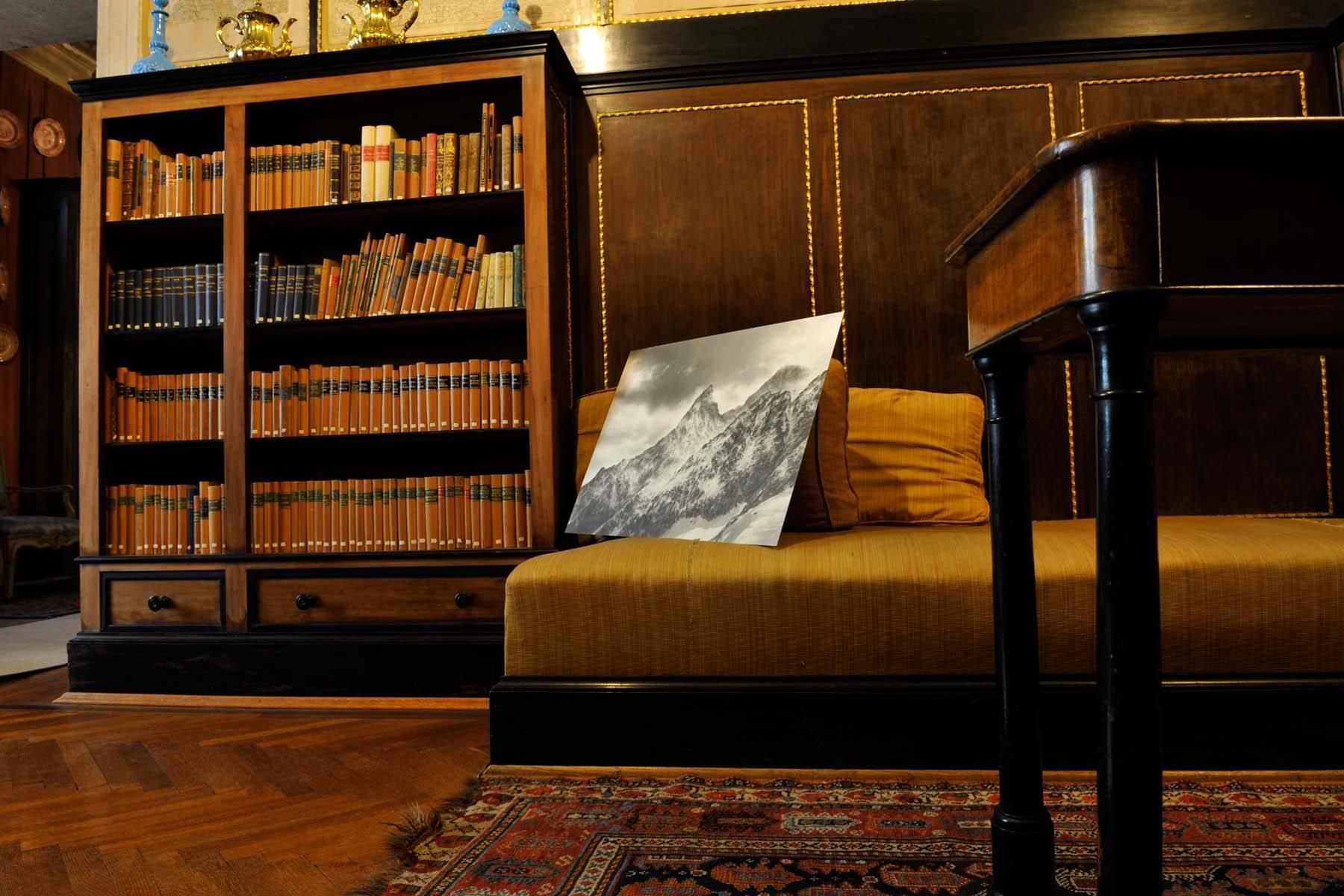 Serse, Notti bianche, 2004, grafite su carta su alluminio, 65 x 100 cm, U. Egger