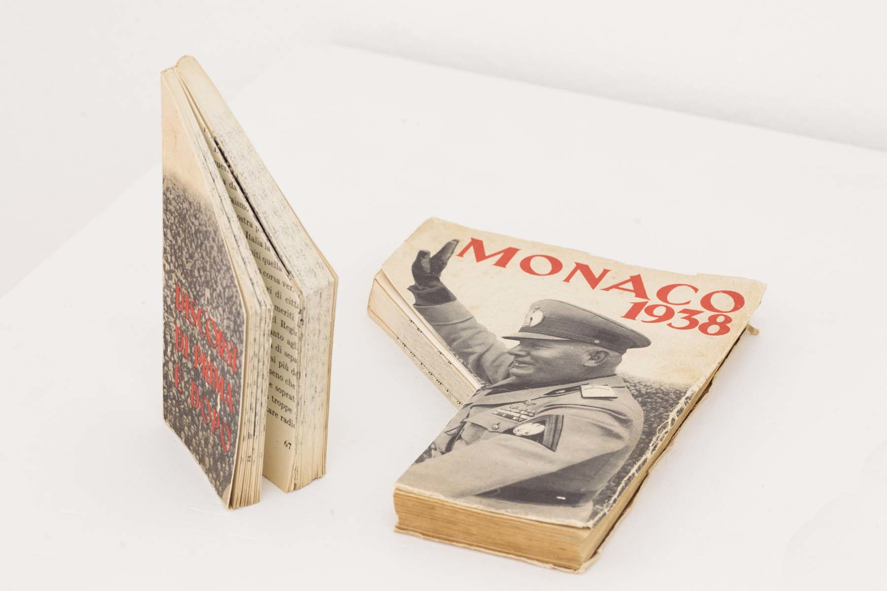 G. Morbin, Libero, 2007, cutted vintage book, 21.5 x 16 cm