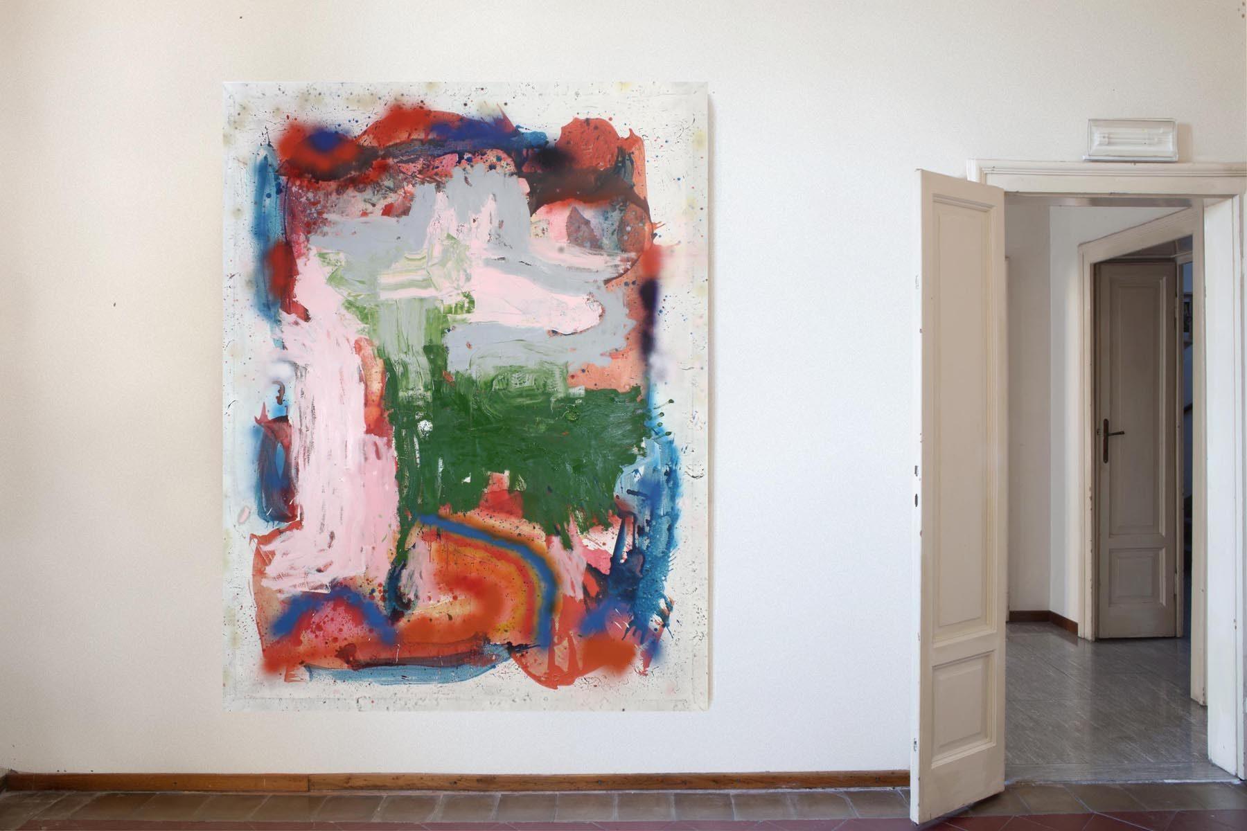 Graffiare il presente, vista della mostra (M. Pariani), Casa Testori, Novate Milanese
