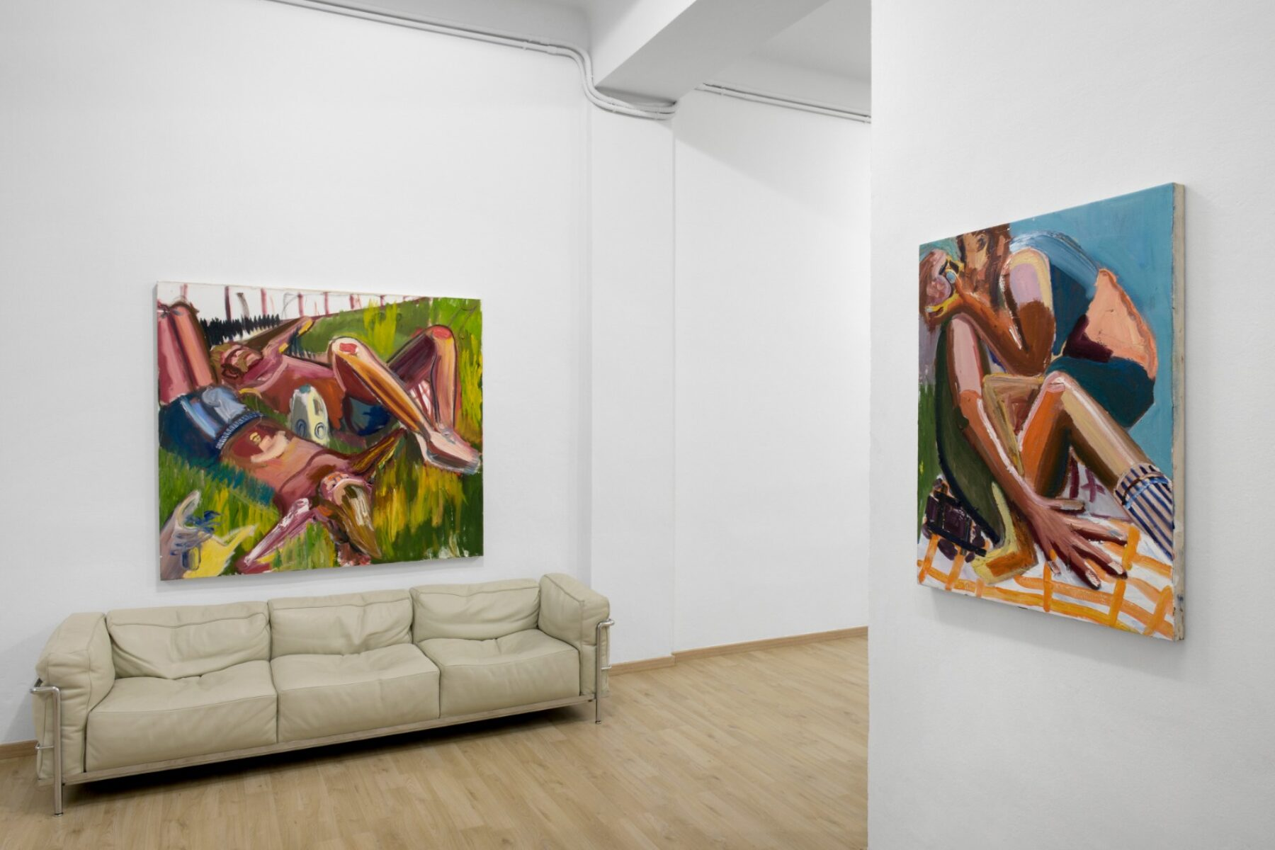 Jacob Patrick Brooks, Panic Room, installation view, A.More Gallery, Milano