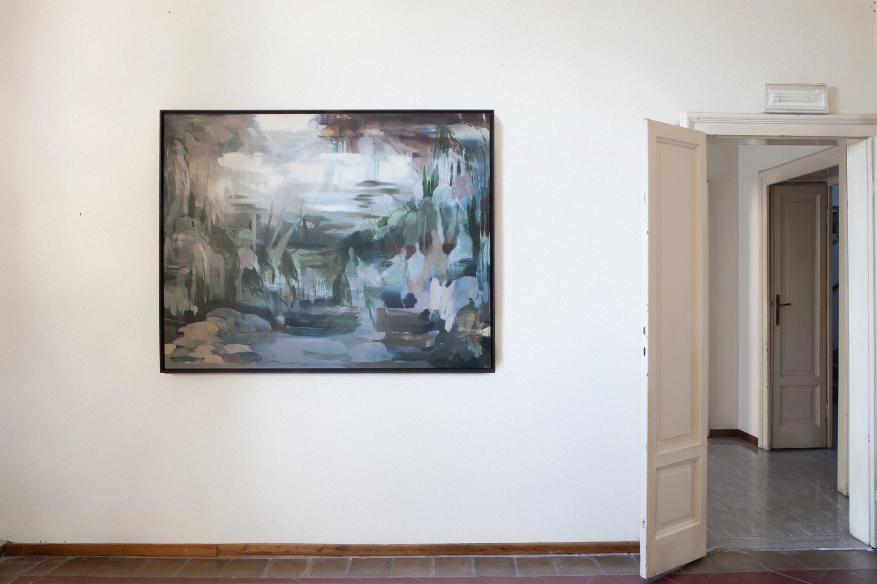 Graffiare il presente, vista della mostra (N. Poli Maramotti), Casa Testori, Novate Milanese