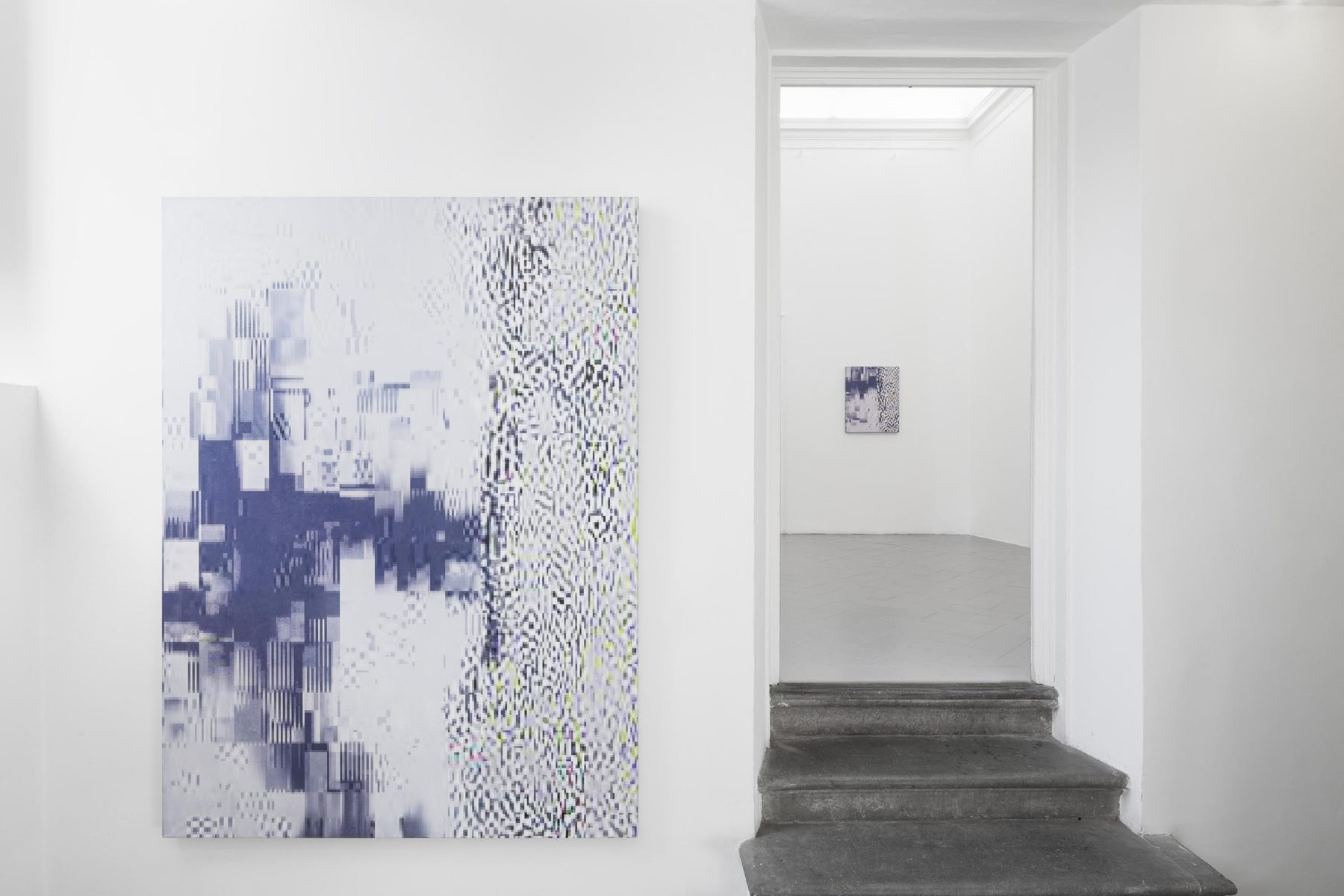 Beneath the Surface, installation view (works by K. Wyrebek), Eduardo Secci Contemporary, Florence, ph. S. Maniero