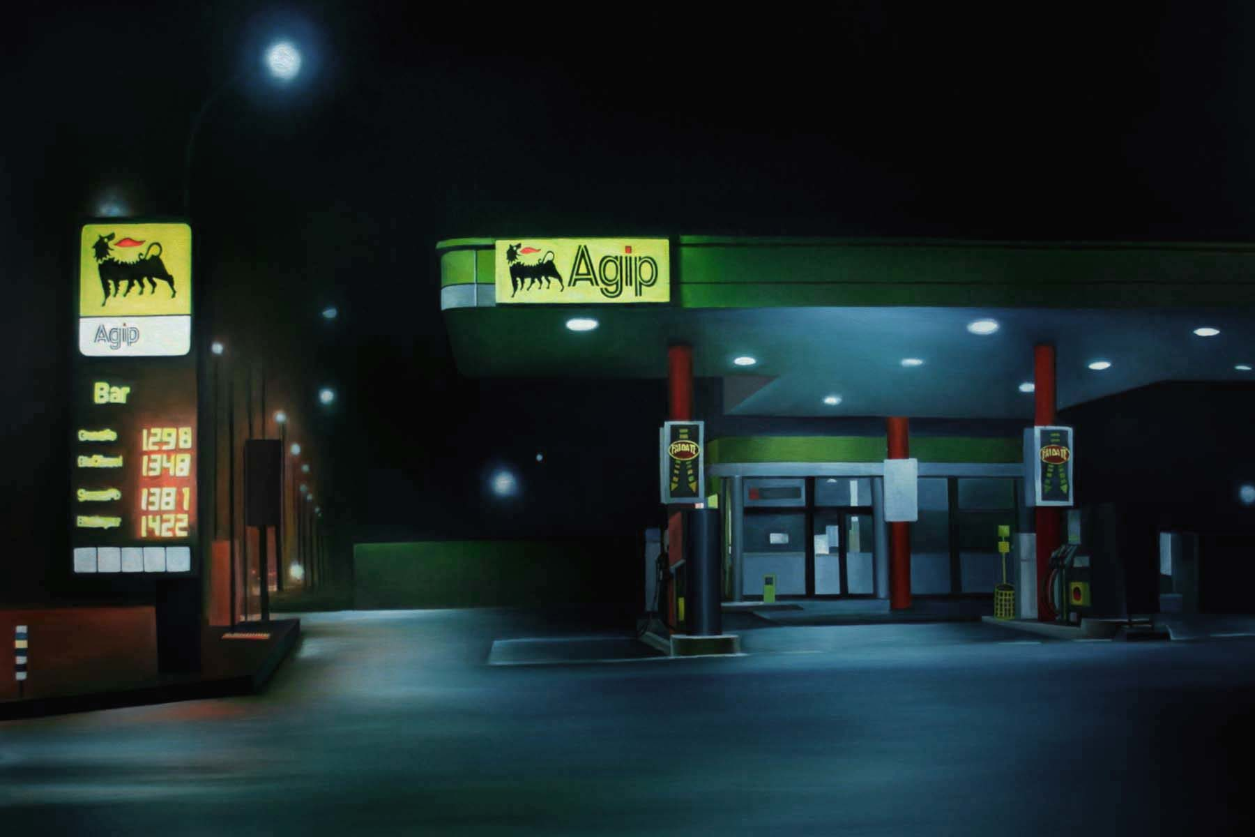 A. Bardino, Heavy fuel, 2008, oil on canvas, 100 x 120 cm