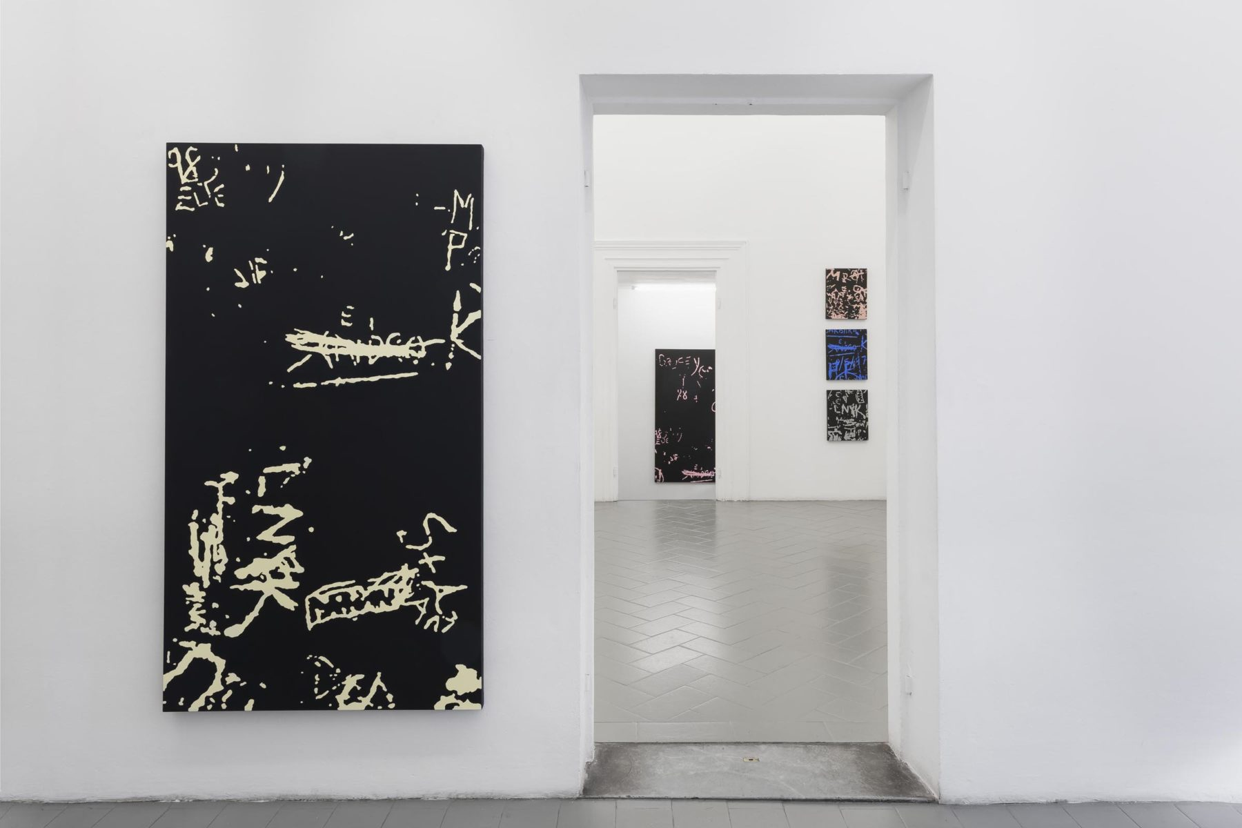 Beneath the Surface, installation view (works by P. Matos), Eduardo Secci Contemporary, Florence, ph. S. Maniero