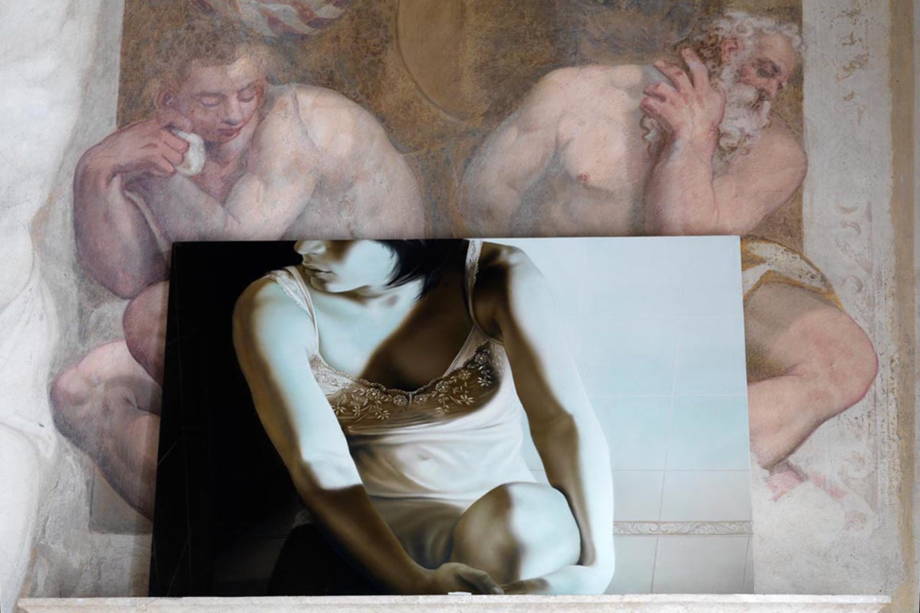 E. Rossi, Mon Chérie, exhibition view, Caldogno