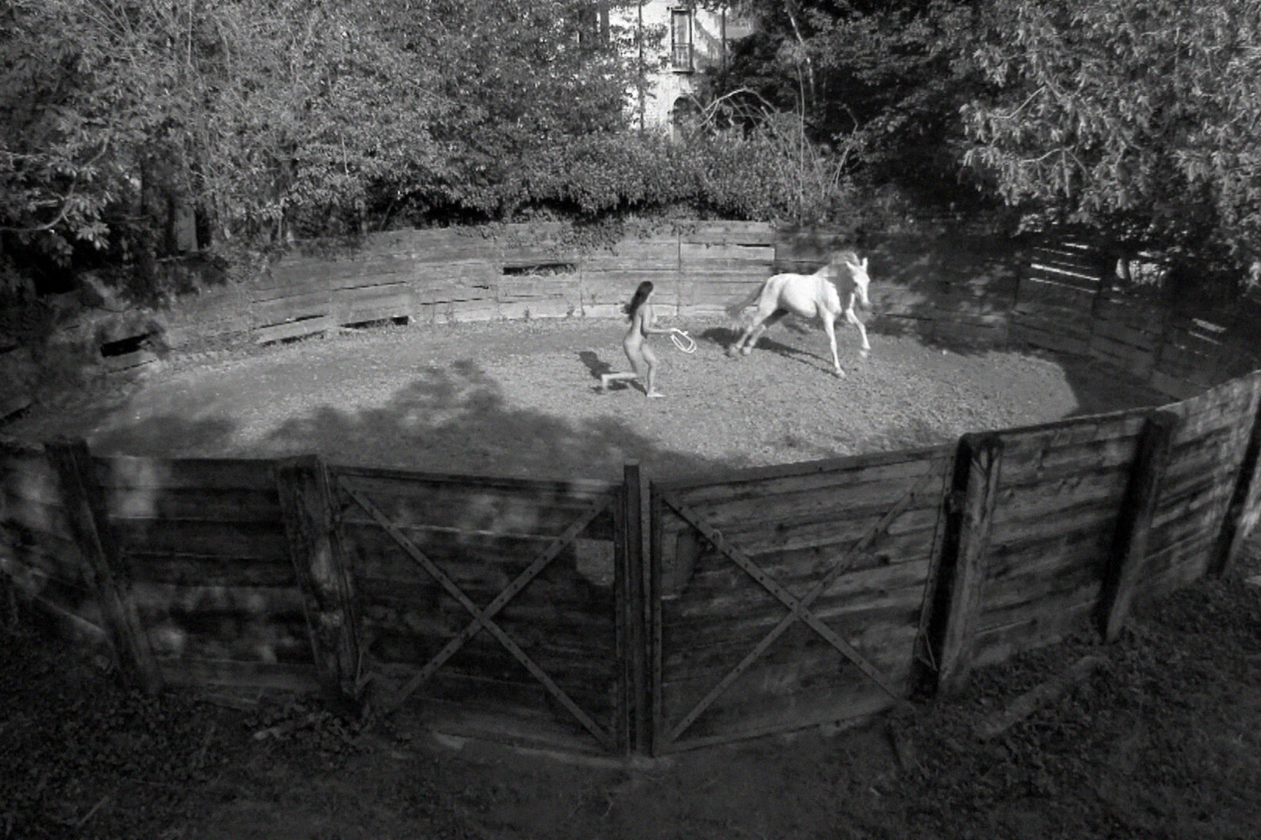 "A. Paci, Inside the Circle, 2011, video, 6'33"", loop, courtesy the artist and Kaufmann Repetto, Milan"