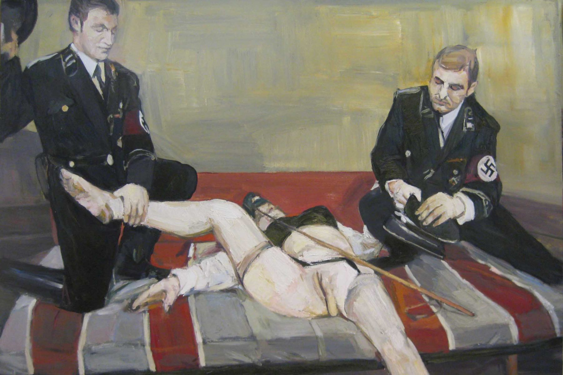 Aleksander Veliscek, Brownie Queen, 2011, oil on canvas, 200 x 160 cm