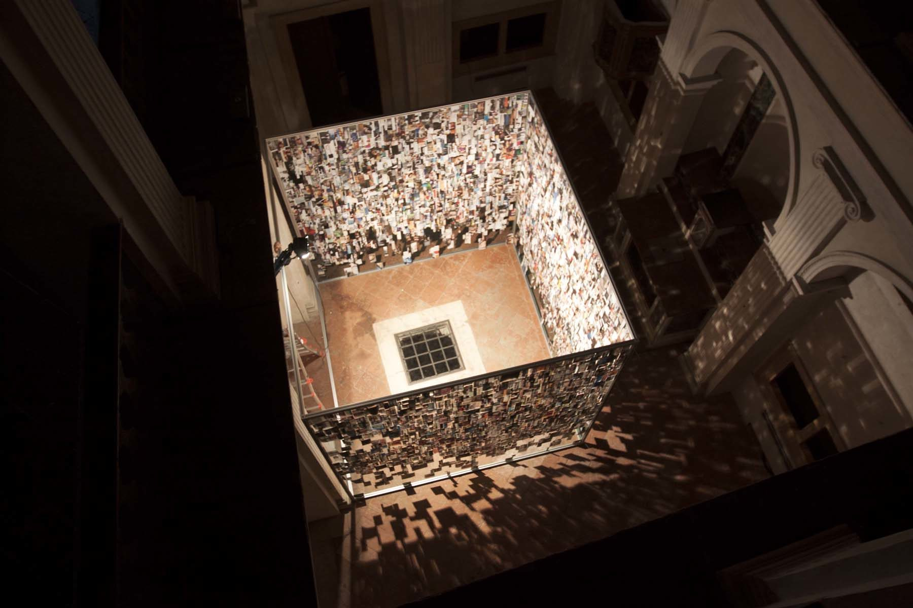 C. Luiselli, Oracle Room, 2015, installation, Oratorio di San Lupo, Bergamo, ph. V.Mussi