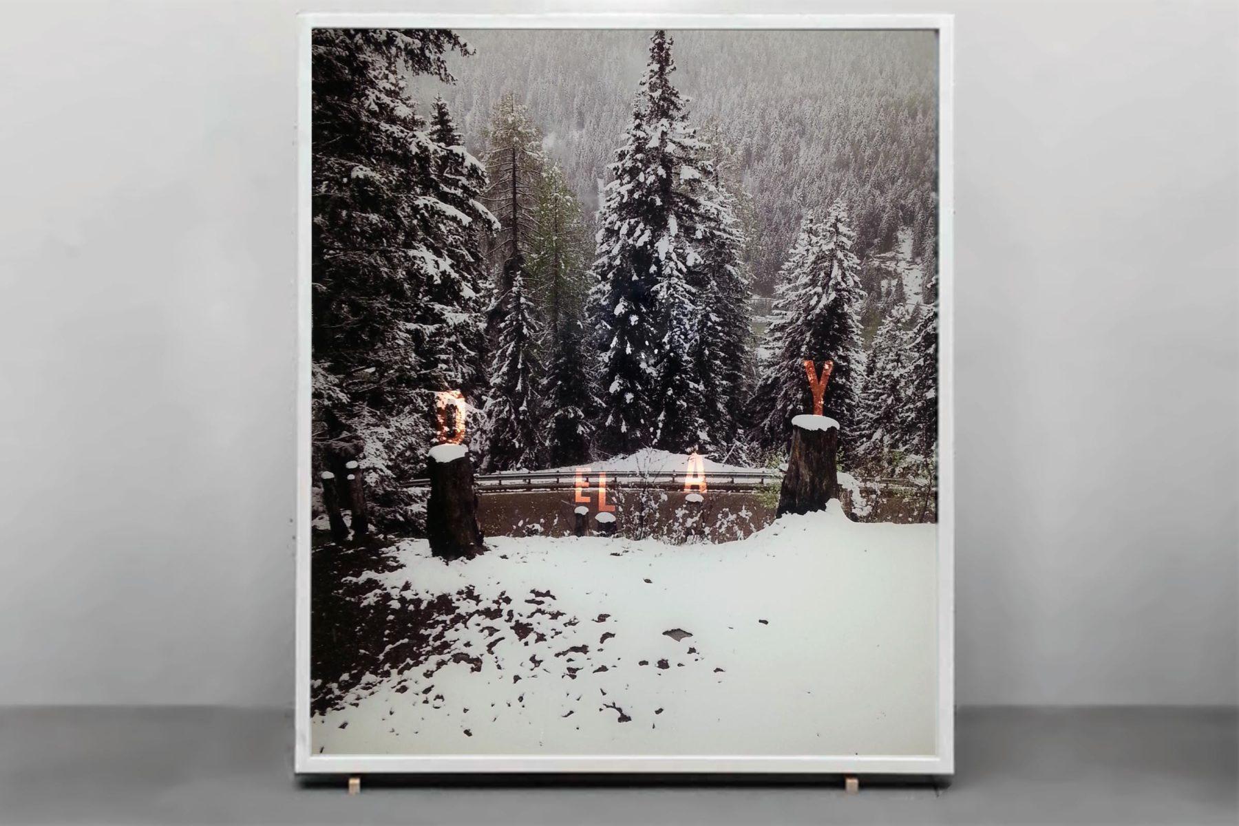 F. Lanaro, Delay, 2013, lightbox, 70 x 60 cm