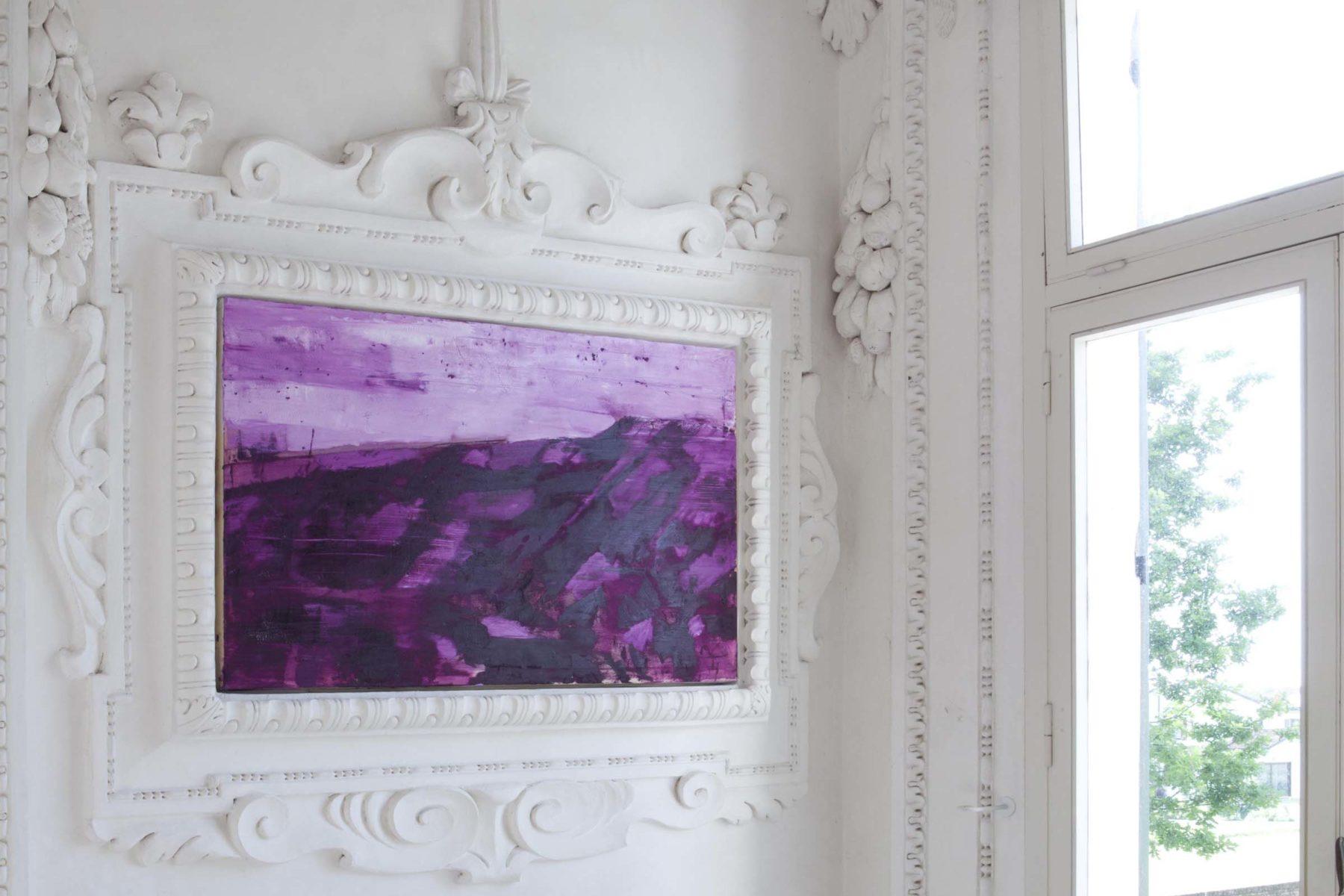 G.Frangi, Mappe, 2012, tecnica mista su tela, presso Villa Morosini, ph.a.frangi 05