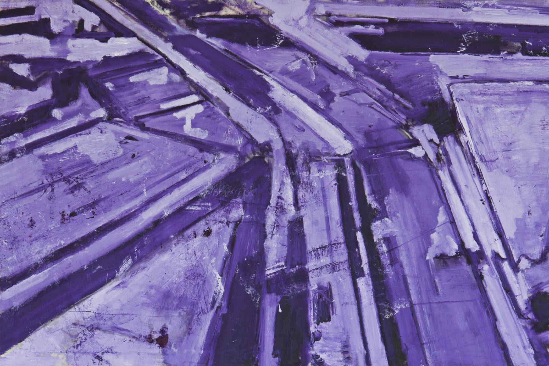 G.Frangi, Mappe, 2012, tecnica mista su tela, presso Villa Morosini, ph.a.frangi 06