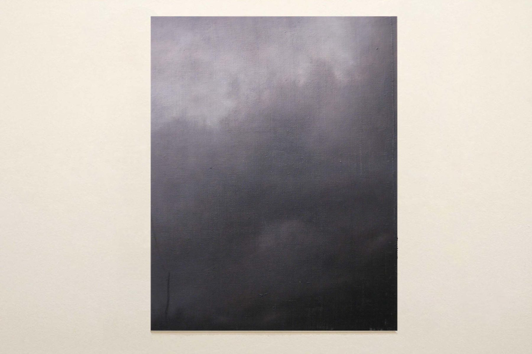 Gianni De Val, Rest and vertigo in the deluge light 1, 2012, oil on canvas, 70 x 50 cm