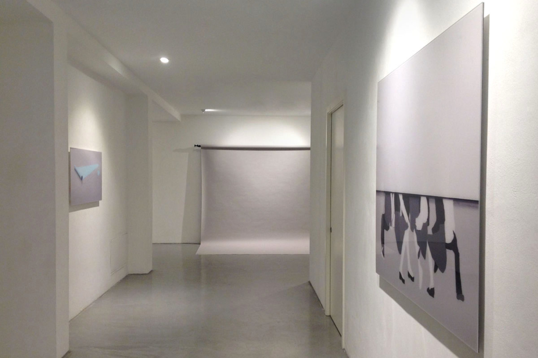 I. Eškinja, Infinity paper, 2013, show view at Deanesi Gallery, 02