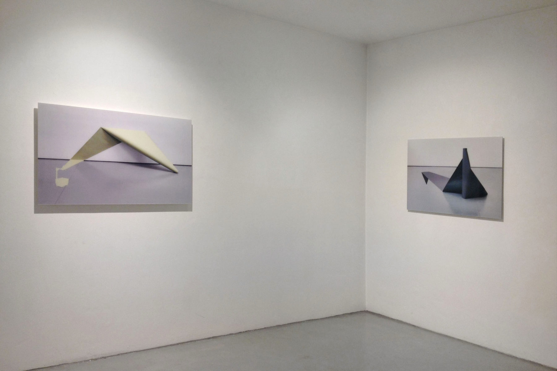 I. Eškinja, Infinity paper, 2013, show view at Deanesi Gallery, 12