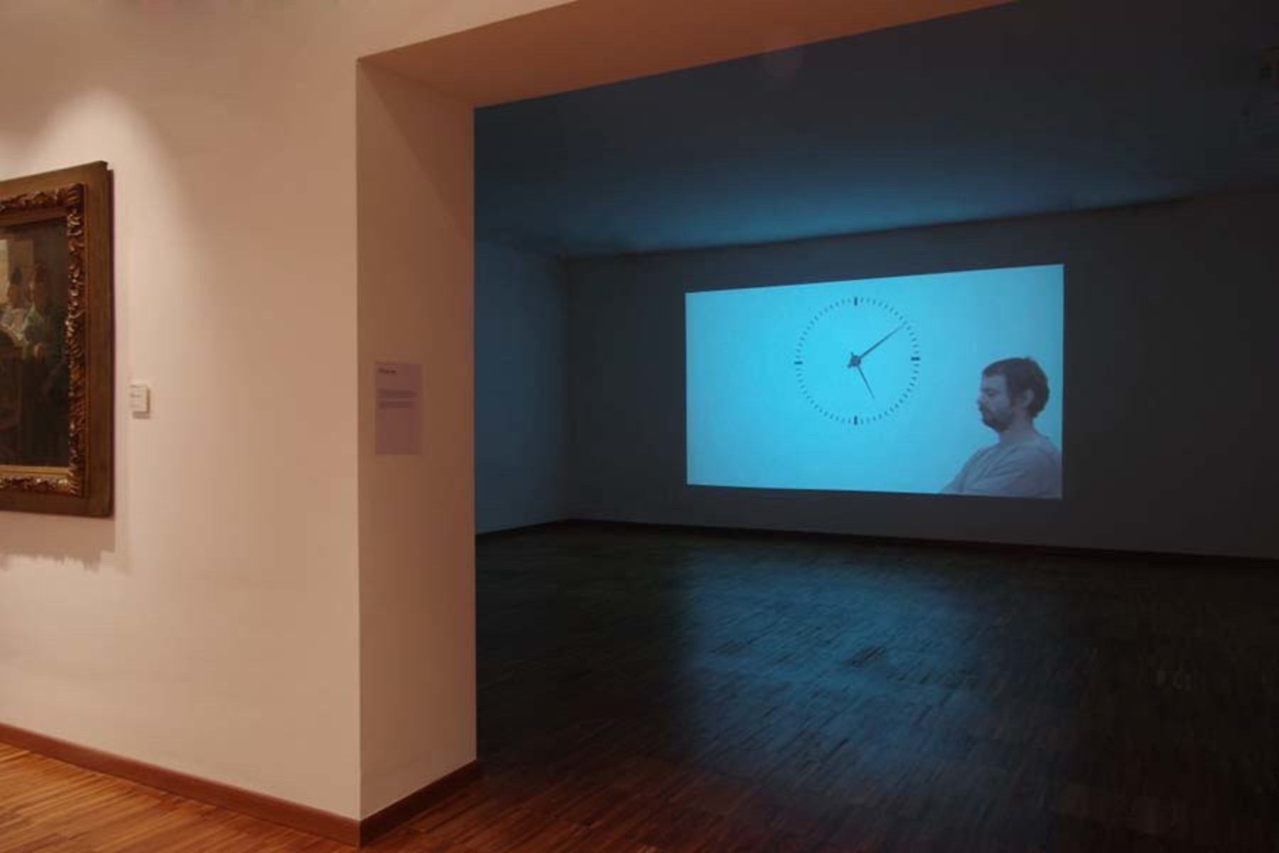I. Moudov, Performing Time, 2012, video hd, 24 h, 14