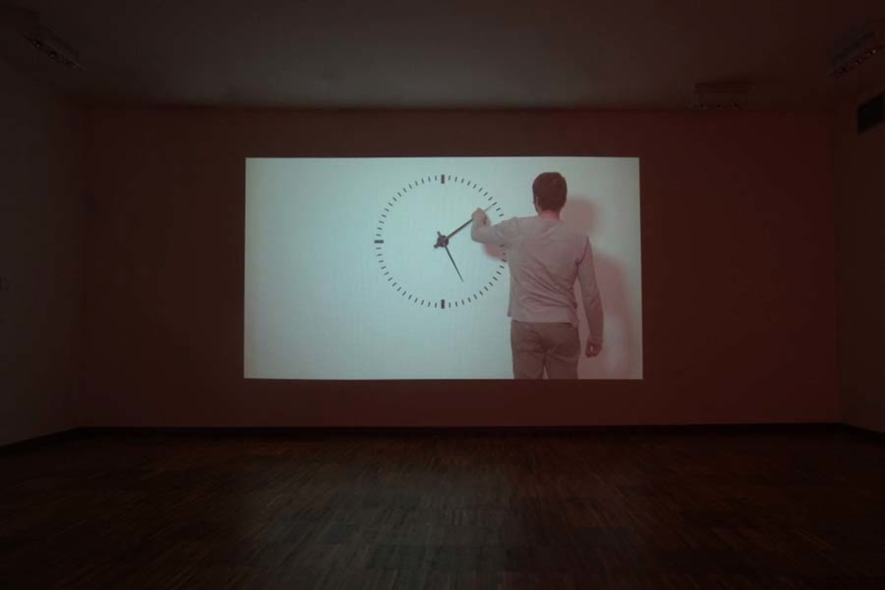 I. Moudov, Performing Time, 2012, video hd, 24 h, 20