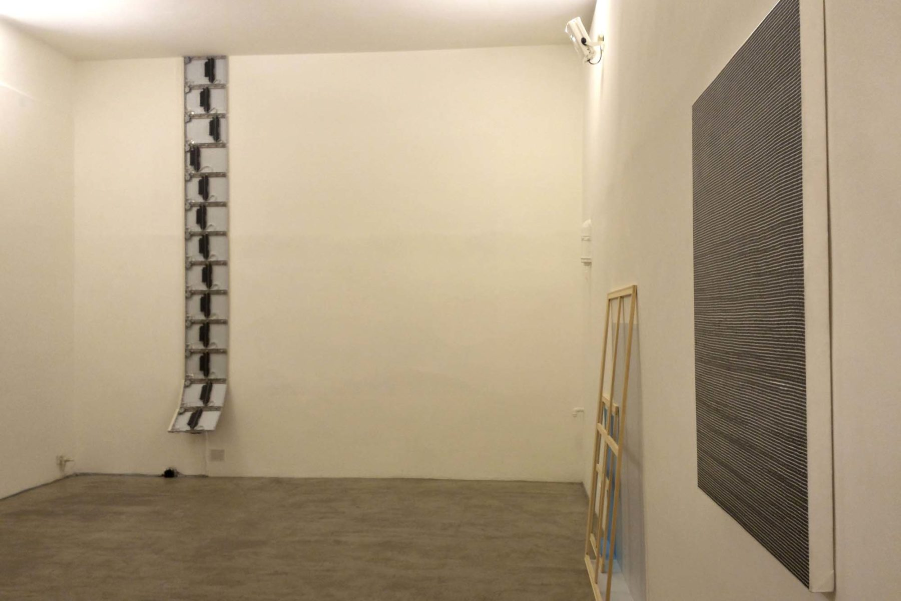 Interspace, exhbition view, Studio Tommaseo