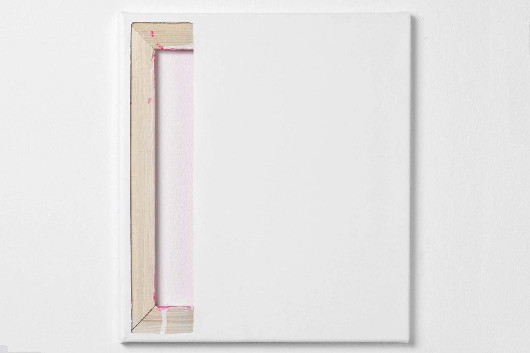 Johanna Binder, GHI Raum, 2014, acrylic on canvas, 40 x 36 cm