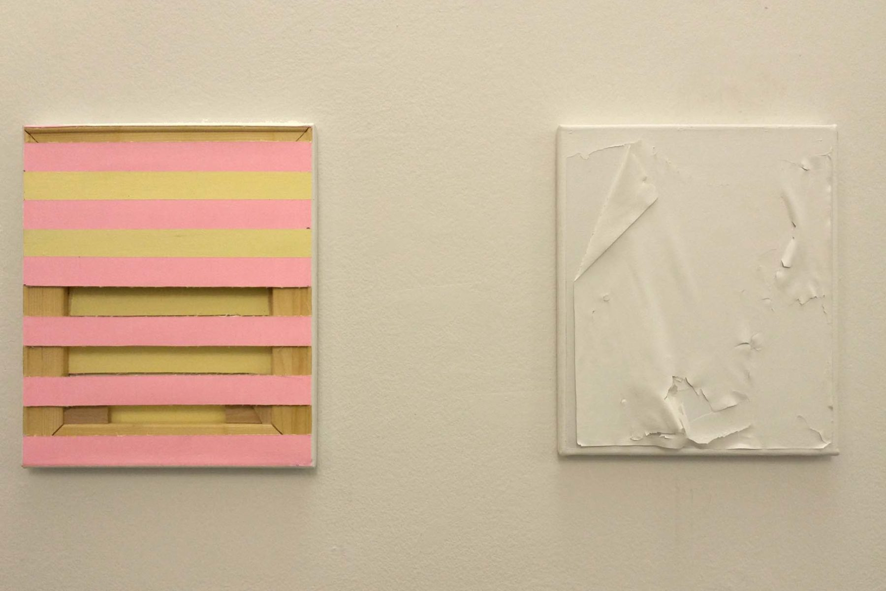 Johanna Binder, installation view at Studio Tommaseo