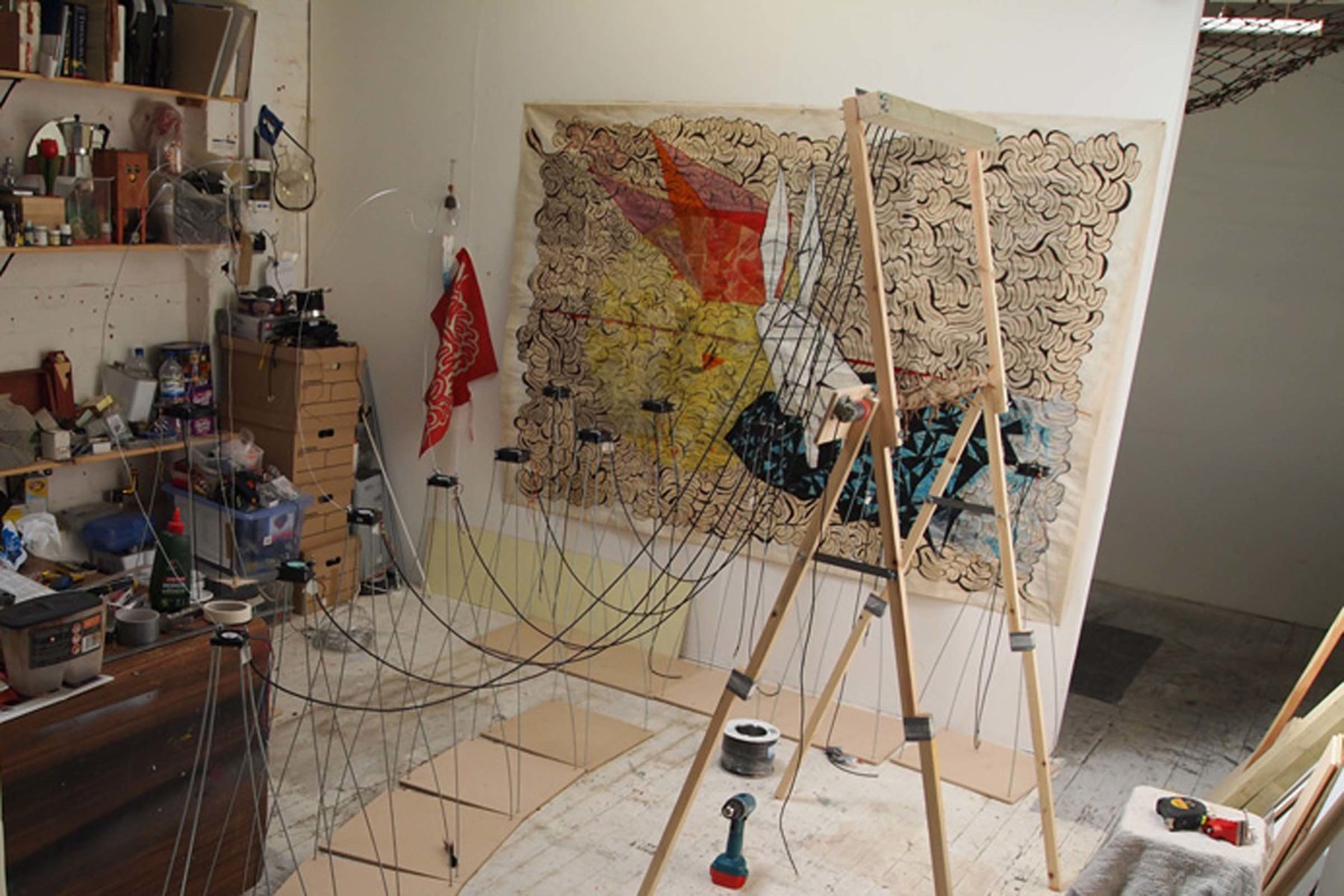 Leonardo Ulian, From zero to one, 2011, mixed media, dimensions according to exhibiting space