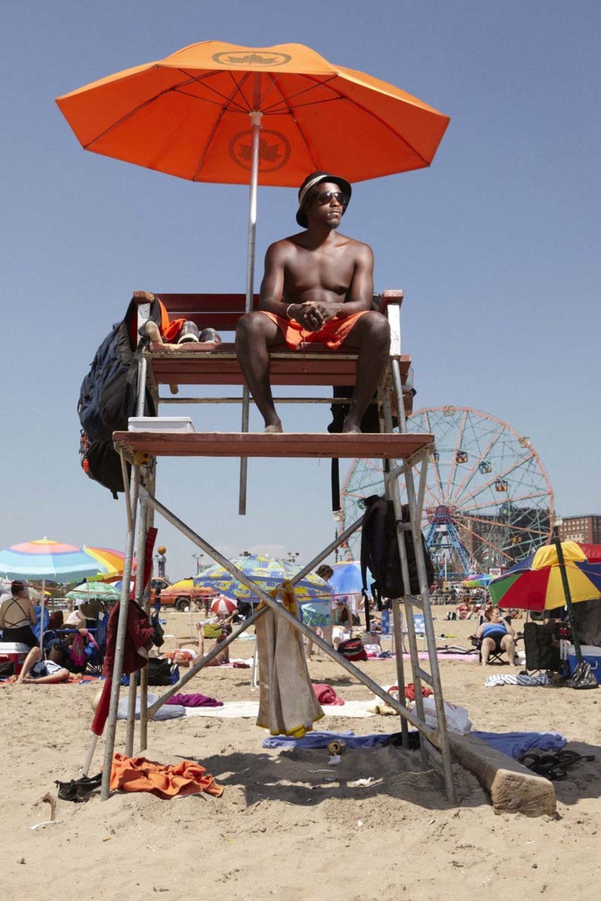 Reed Young, See you at Coney Island, 2012, inkjet on Kodak paper, variable dimensions (q)