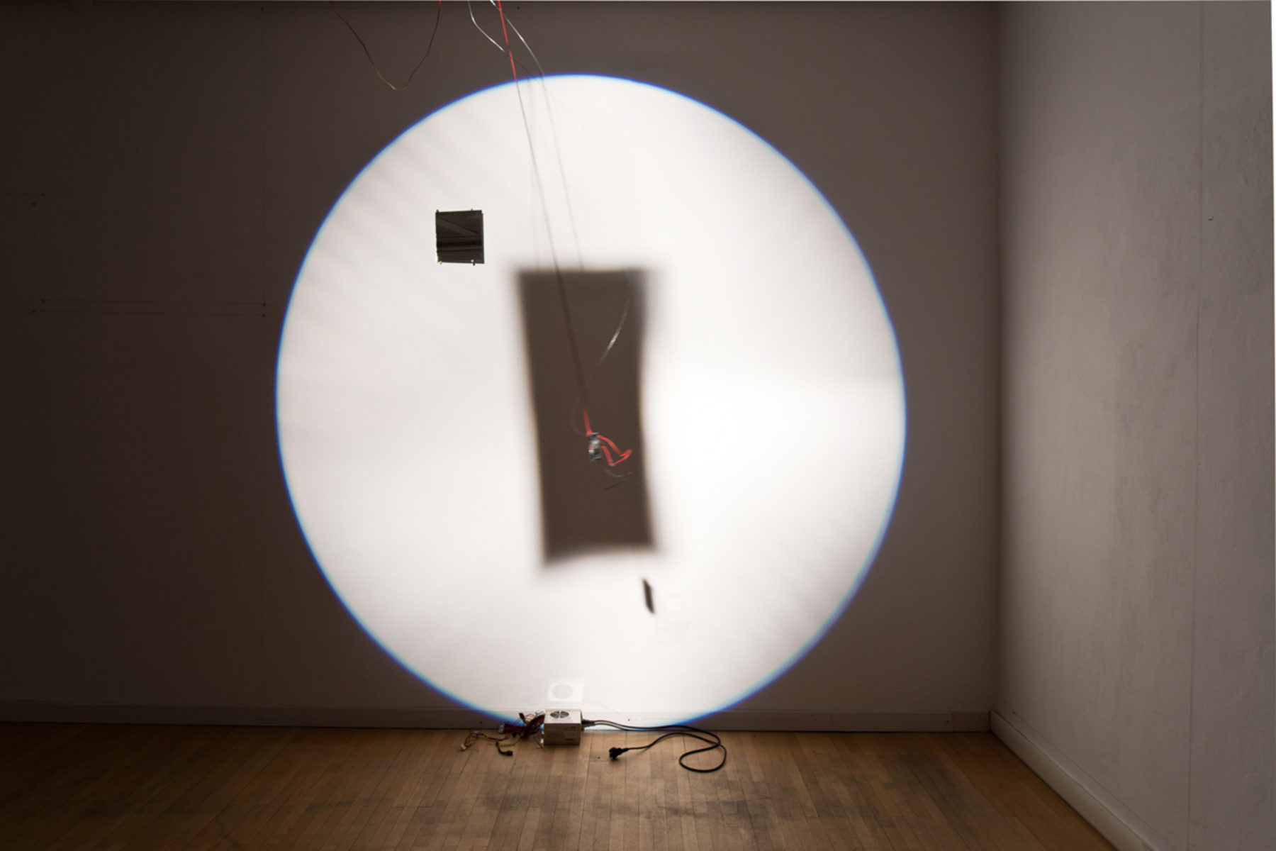 Richard Loskot, Bird System, 2012, light, solar cell, electrical machines, installation, b