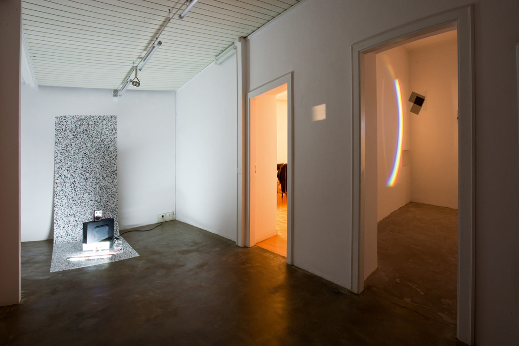 Richard Loskot, Open System, 2012, show view