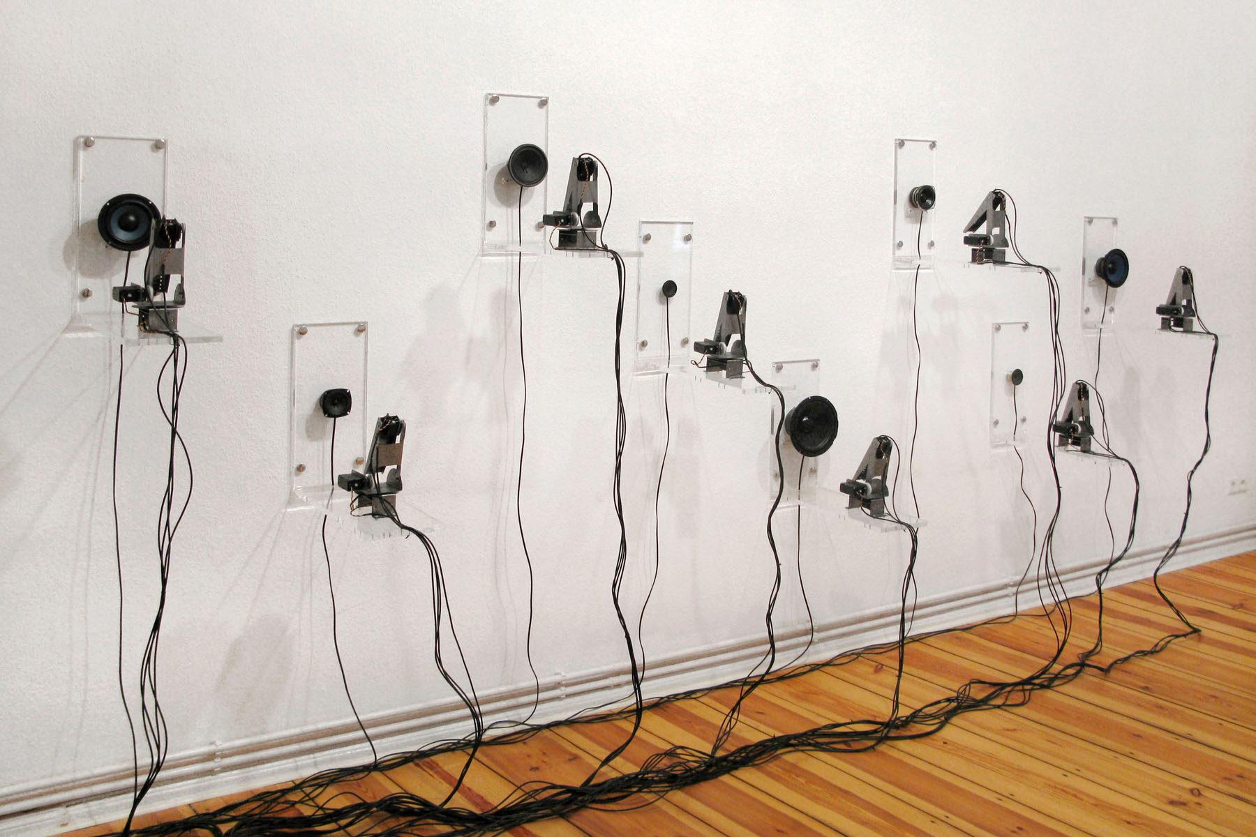 Roberto Pugliese, Equilibrium, 2011, installation view at Galerie Mario Mazzoli, Berlin