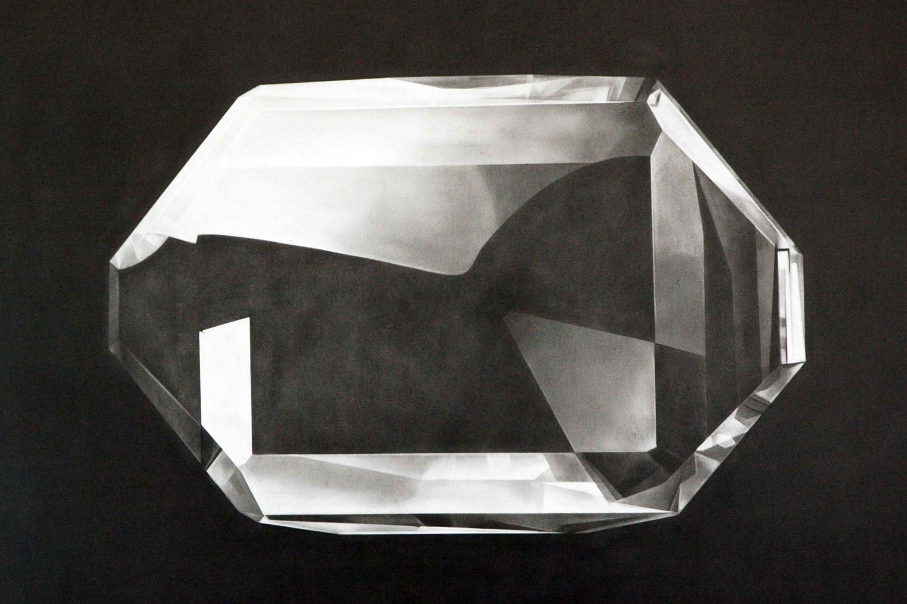 Serse, Diamond, 2007, drawing on paper, 100 x 70 cm
