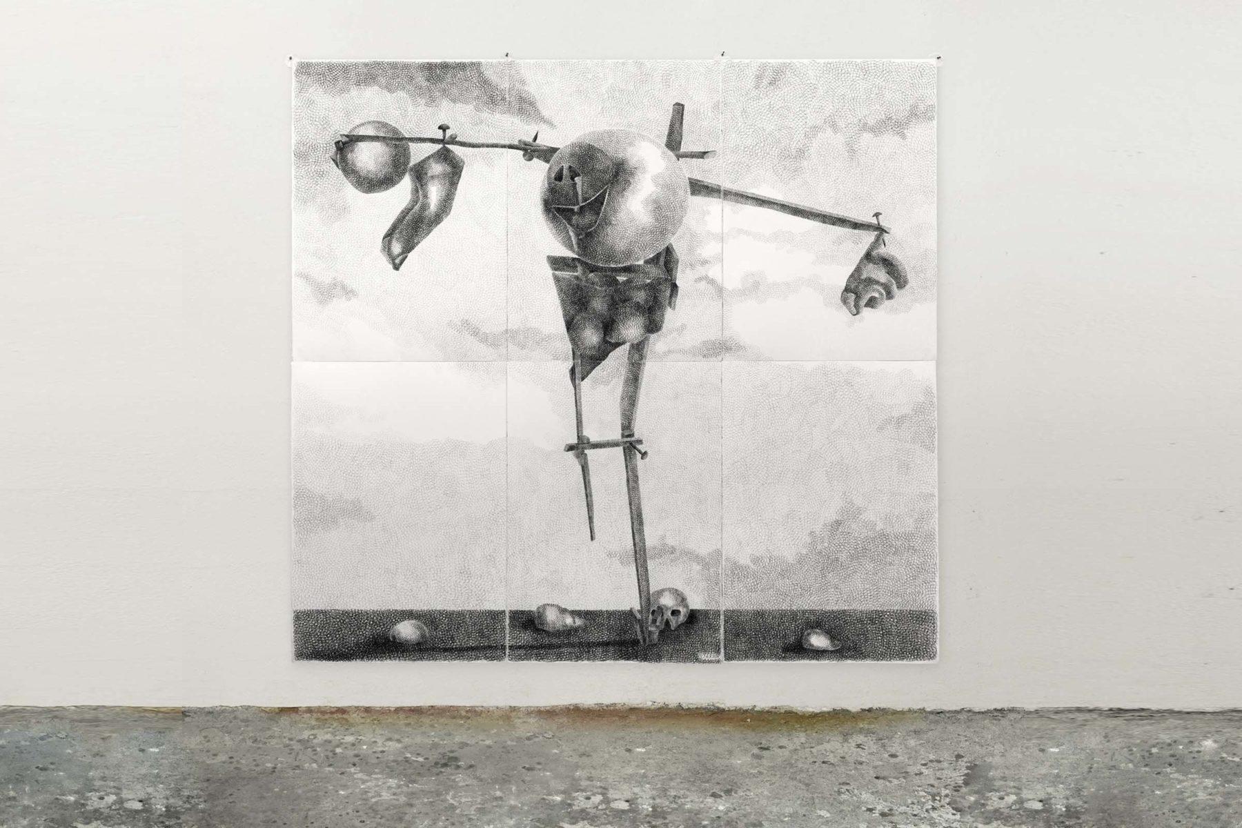 Silvano Tessarollo, Disegno semplice, 2011, drawing on paper