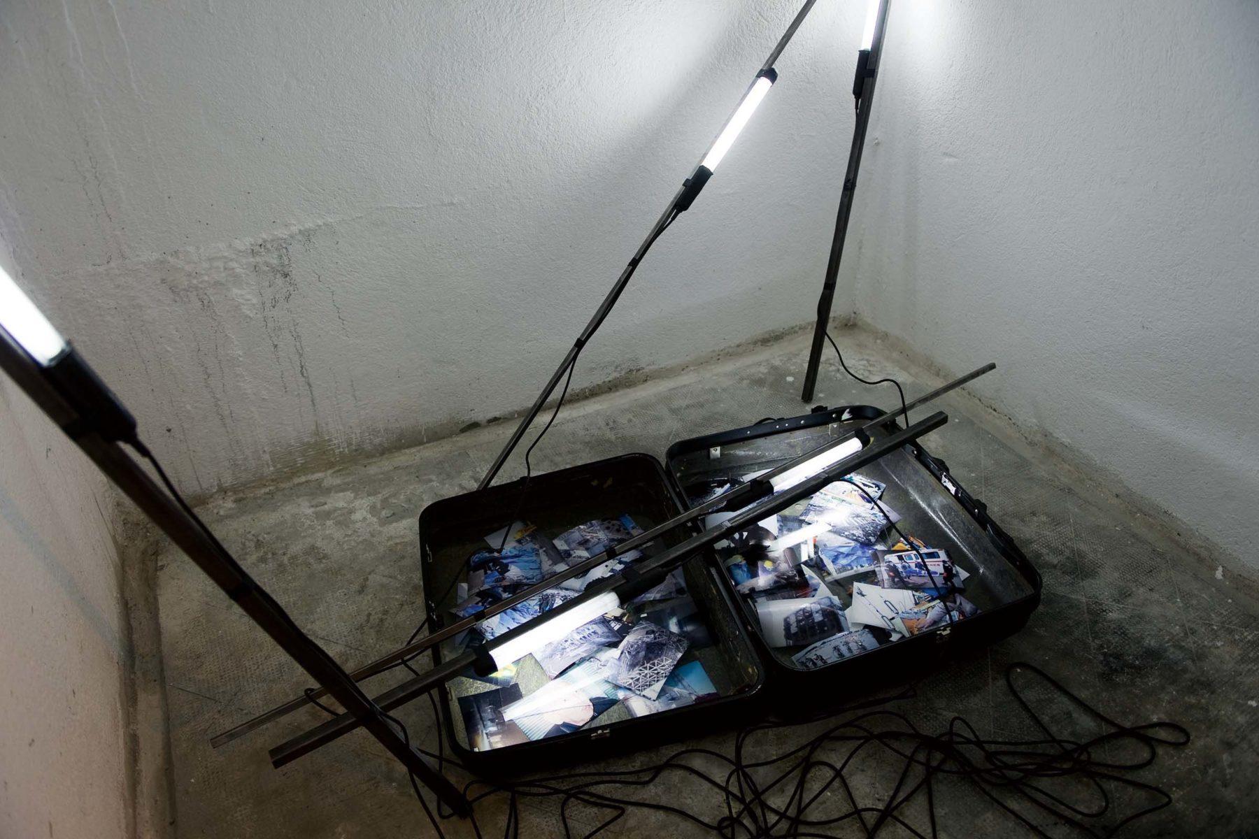 Ulrich Egger, Fukushima, 2011, installation, 200 x 150 x 150 cm