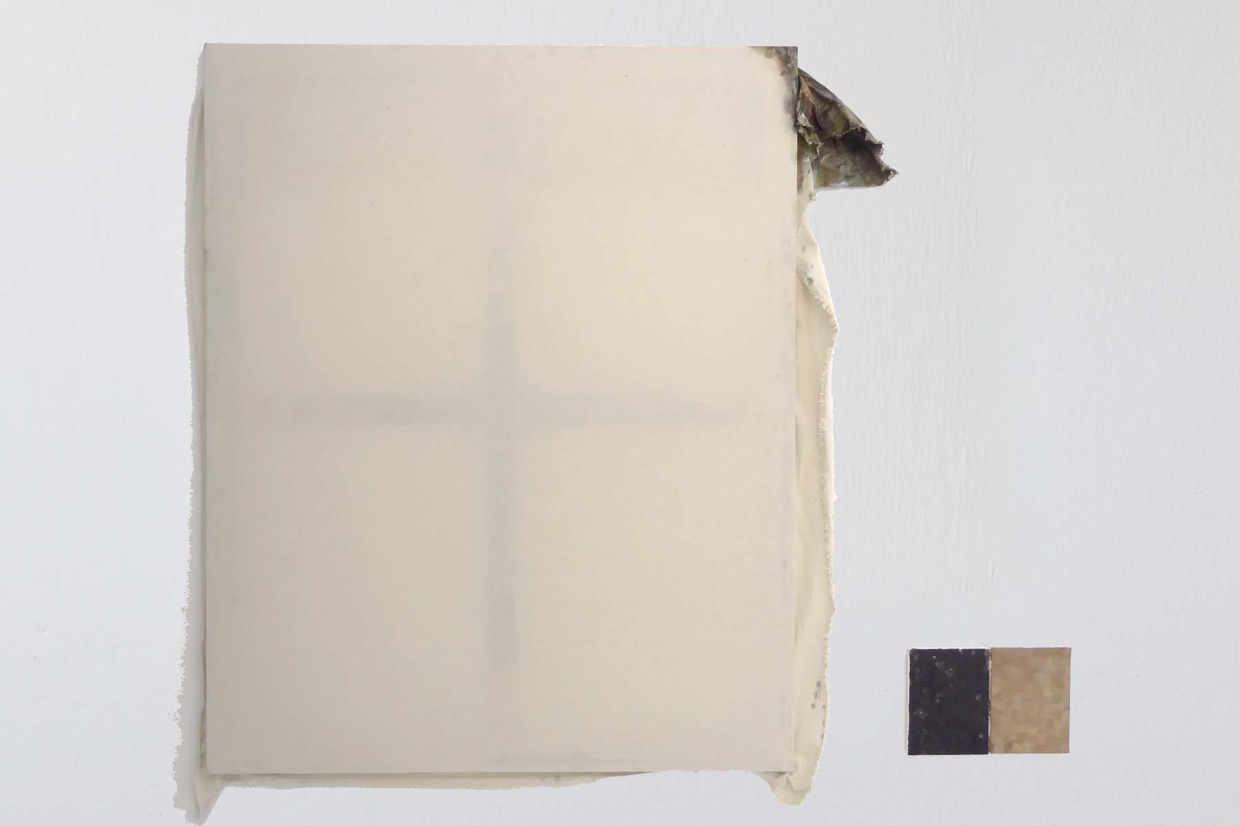 Valerio Nicolai, Gonna del corno, 2014, oil on raw canvas,