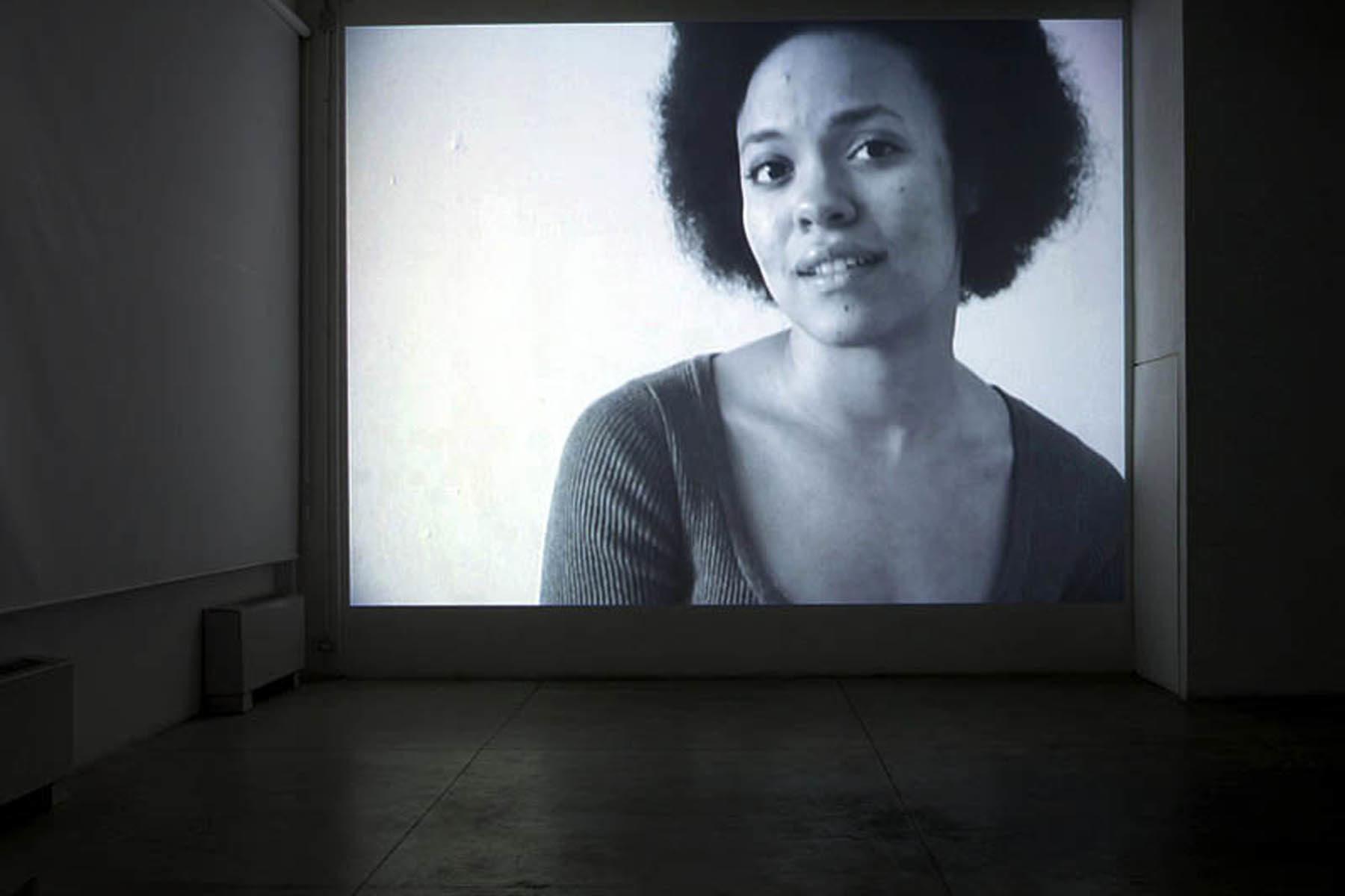 Valerio Rocco Orlando, Lover's Discourse, 2010, vide, vista dell'installazione presso Fabbrica del Vapore, Milano.