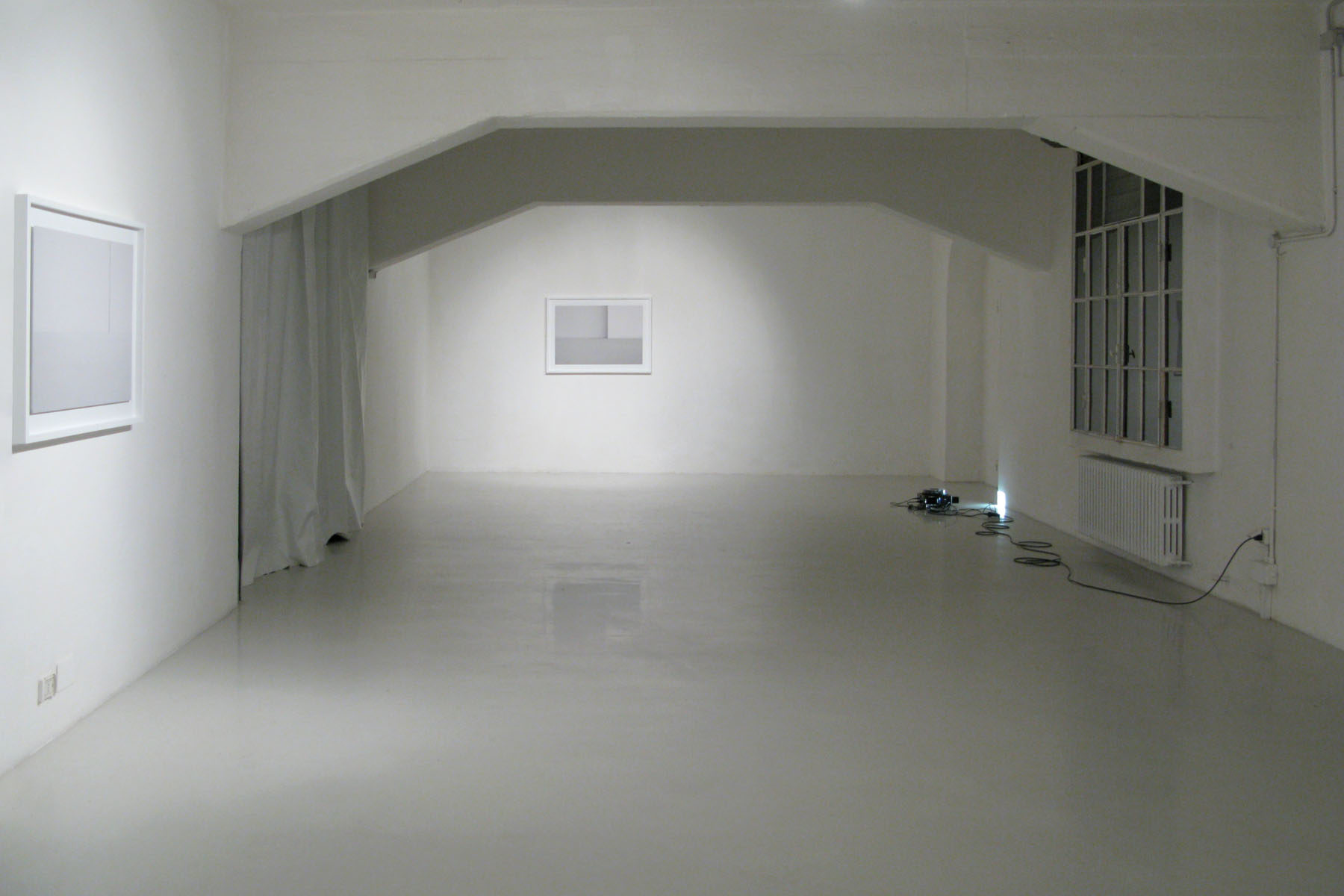 M. Spanghero, Exhibition Rooms, show view